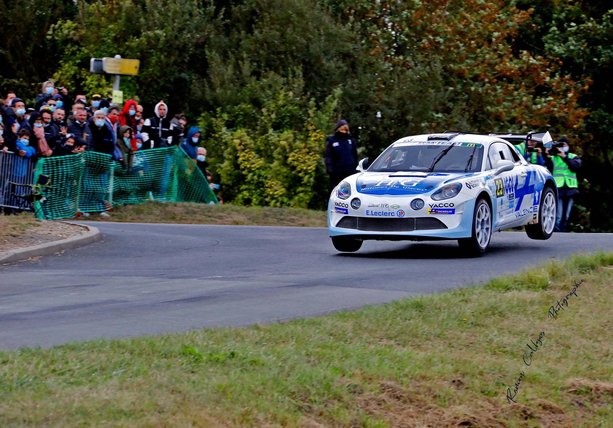 Cedric Robert Matthieu Duval Alpine A110 Rally Rallye Coeur de France 1 | Alpine A110 Rally : Cédric Robert hausse le rythme lors du Rallye Cœur de France 2020