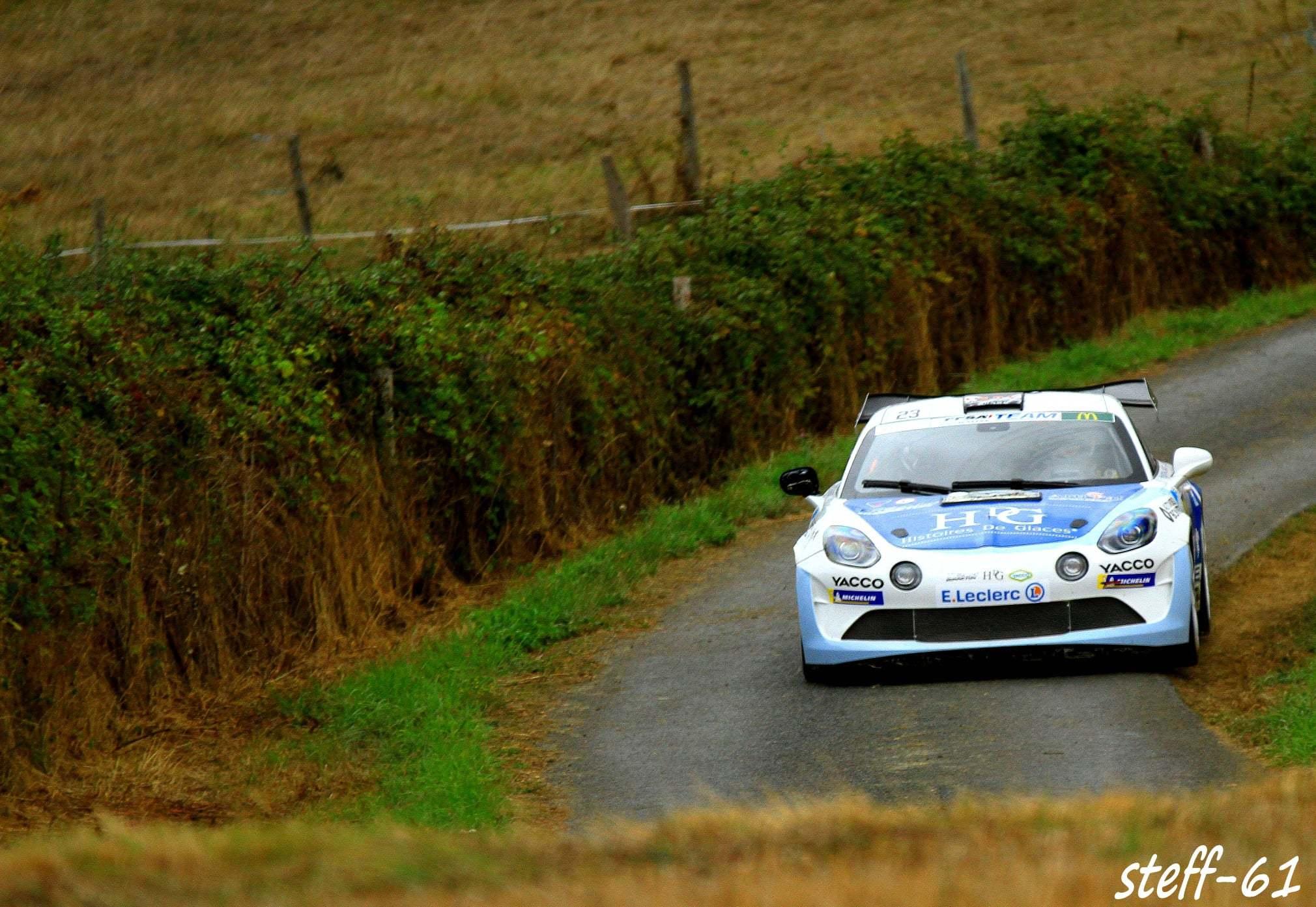 Cedric Robert Matthieu Duval Alpine A110 Rally Rallye Coeur de France 5 | Alpine A110 Rally : Cédric Robert hausse le rythme lors du Rallye Cœur de France 2020