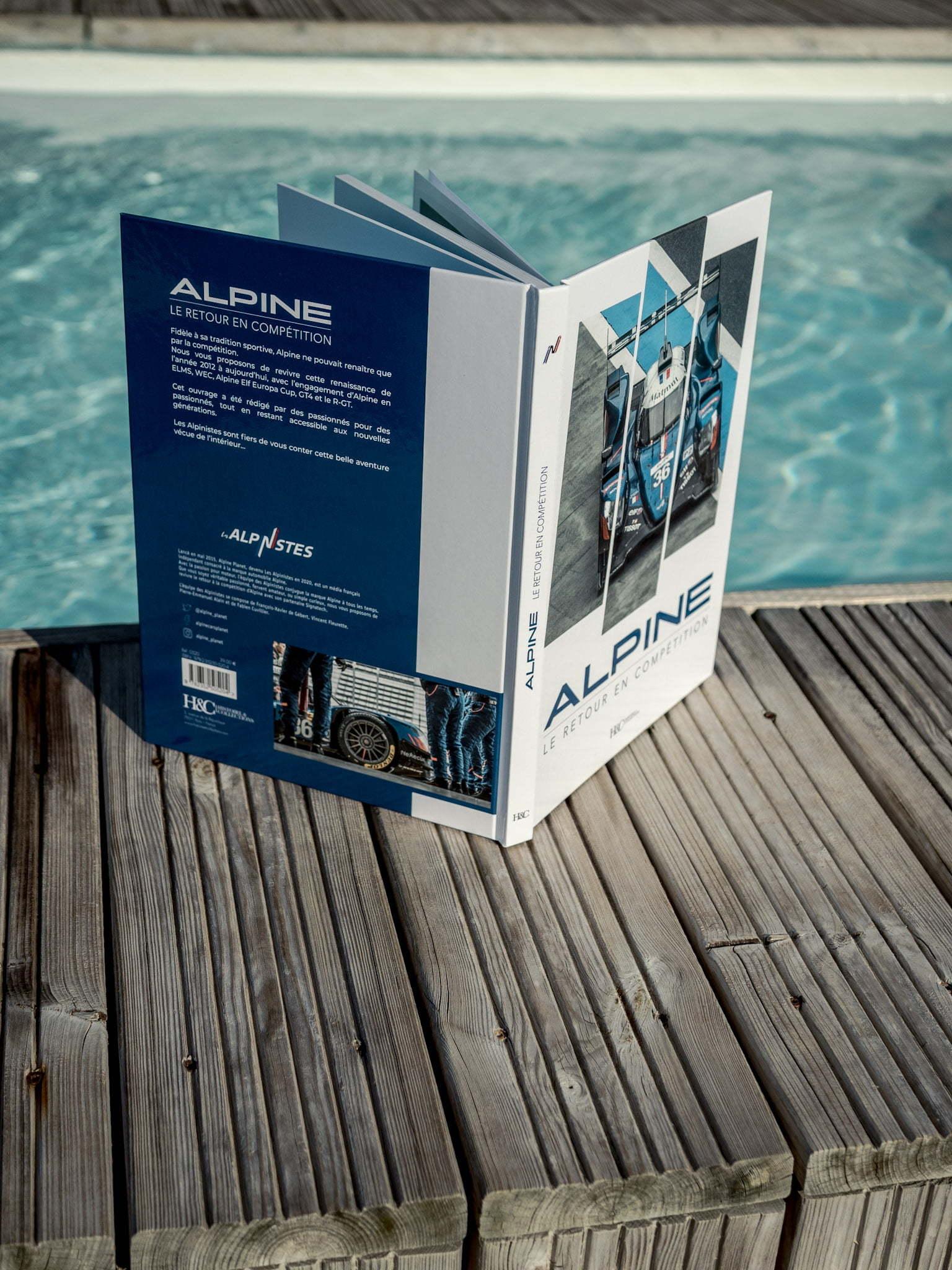 Les Alpinistes Livre Alpine A110 retour en competition Histoire et Collections 7 | Livre | Alpine, le retour en compétition
