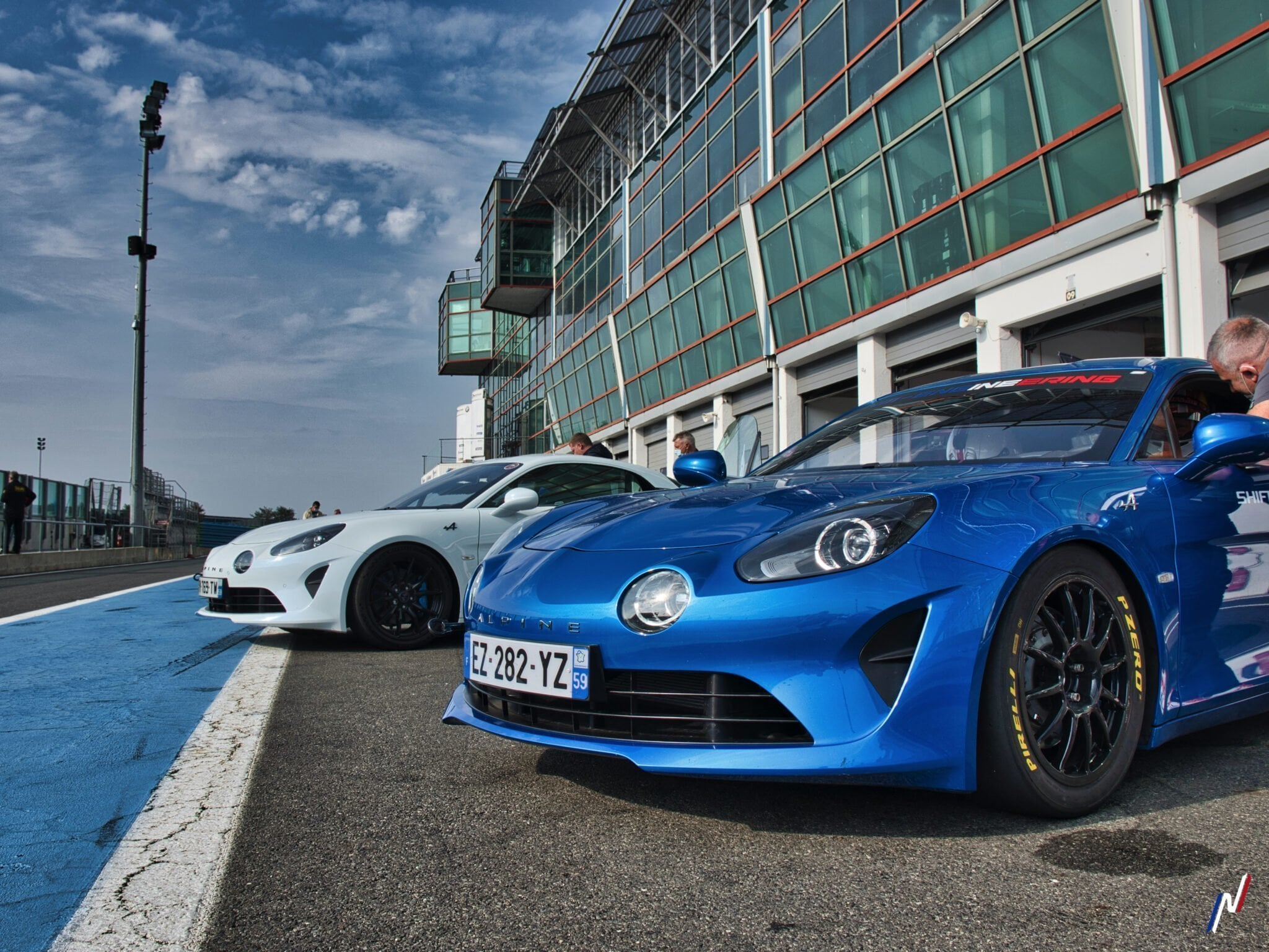 Motorsport Mag Track Day Magny Cours Alpine A110  P1100839 Alpine Planet | Track Day Motorsport 2020 : Magny-Cours, des Alpine et du fun !