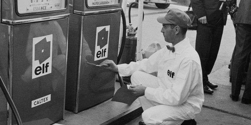 Petrolier Elf 1967 | L'Alpine A350, la F1 tuée dans l'oeuf