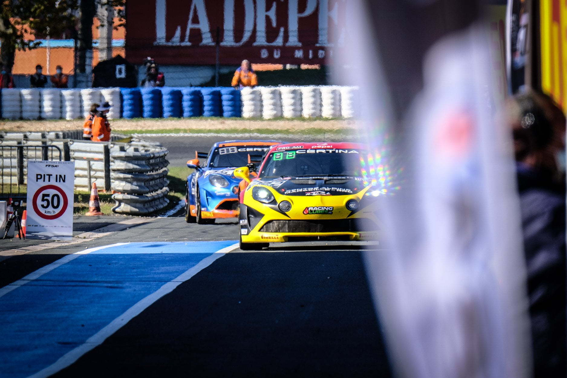 Alpine A110 GT4 FFSA GT 2020 Albi 22 | Alpine A110 GT4 : le plein de points à Albi pour la 1ère course !