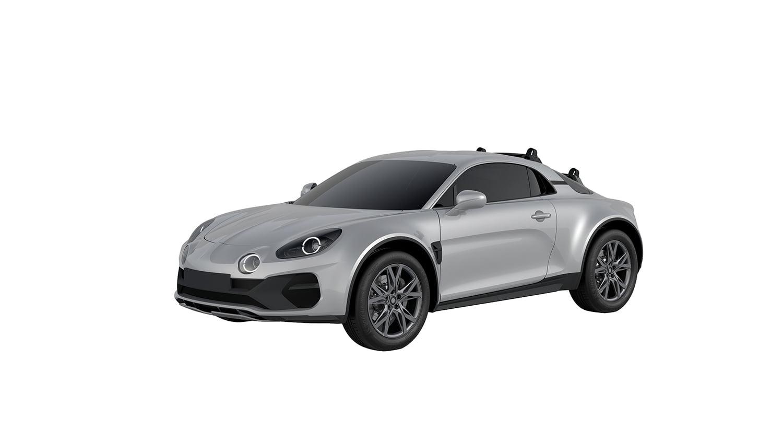 Alpine A110 Sports X WIPO Brevet design 2020 6 | Alpine A110 Sports X : la marque dépose les brevets du design en 2020