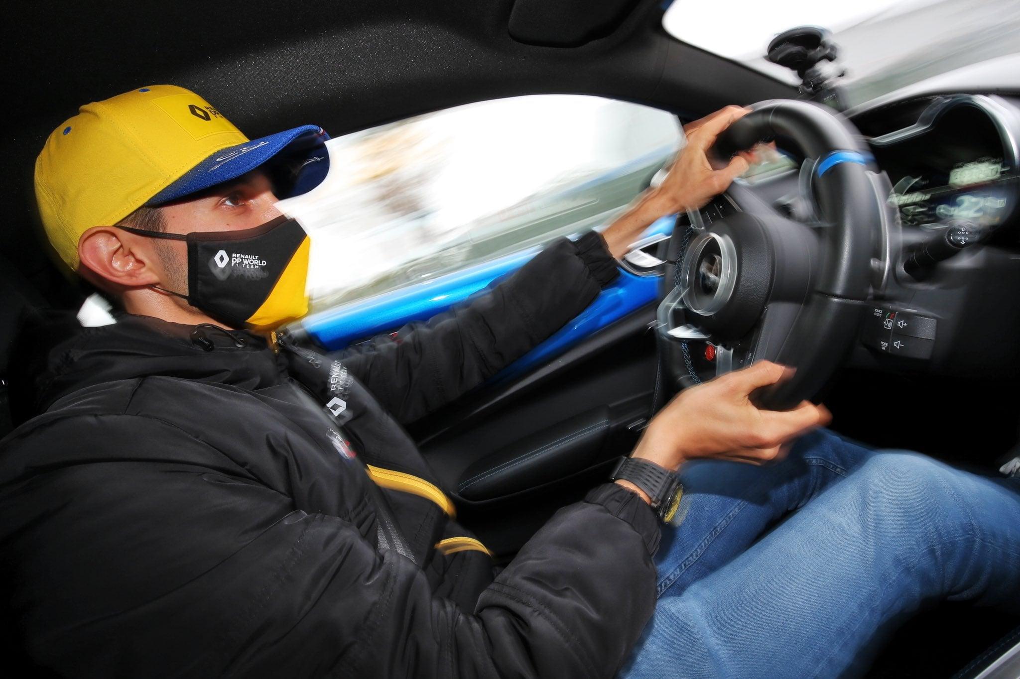 Alpine F1 Team Esteban Ocon A110 Nurburgring 1 | Alpine F1 Team : Esteban Ocon au volant de l'A110 sur le Nürburgring