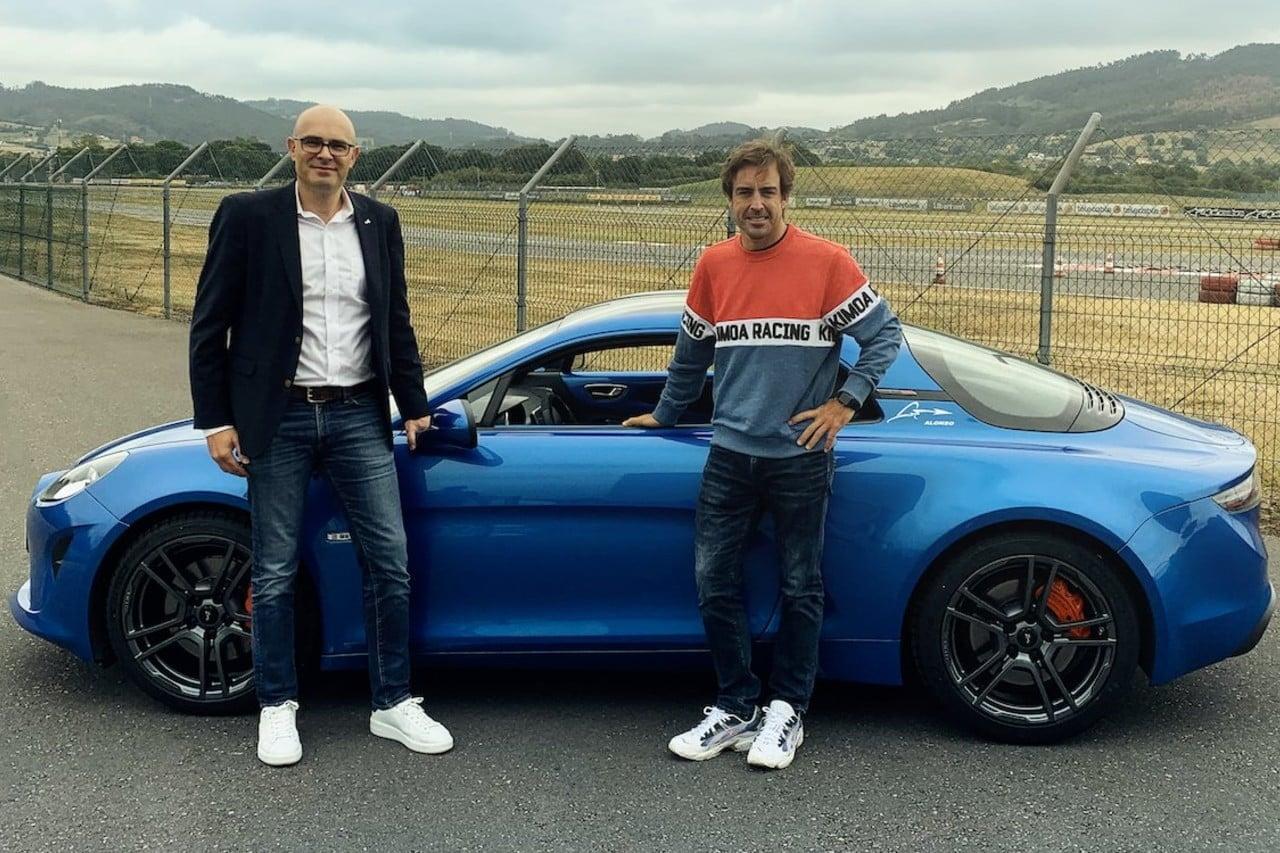 Alpine F1 Team Fernando Alonso A110 | Alpine F1 Team : Esteban Ocon au volant de l'A110 sur le Nürburgring