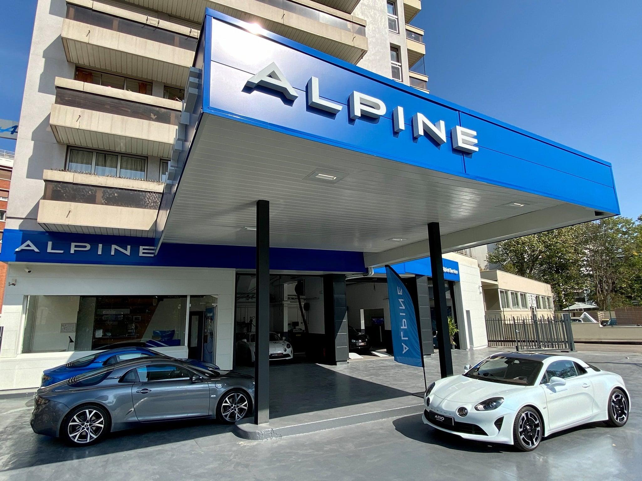 Alpine Service Studio Boulogne A110 2020 | Alpine Service : RRG ouvre son premier Centre de Service Alpine en 2020