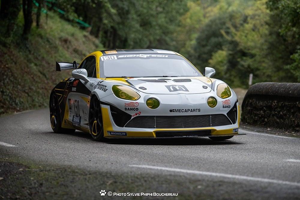 Anthony Dubois Alpine A110 GT4 Course cote 2020 1 | Anthony Dubois, pilote d'une Alpine A110 engagée en course de côte