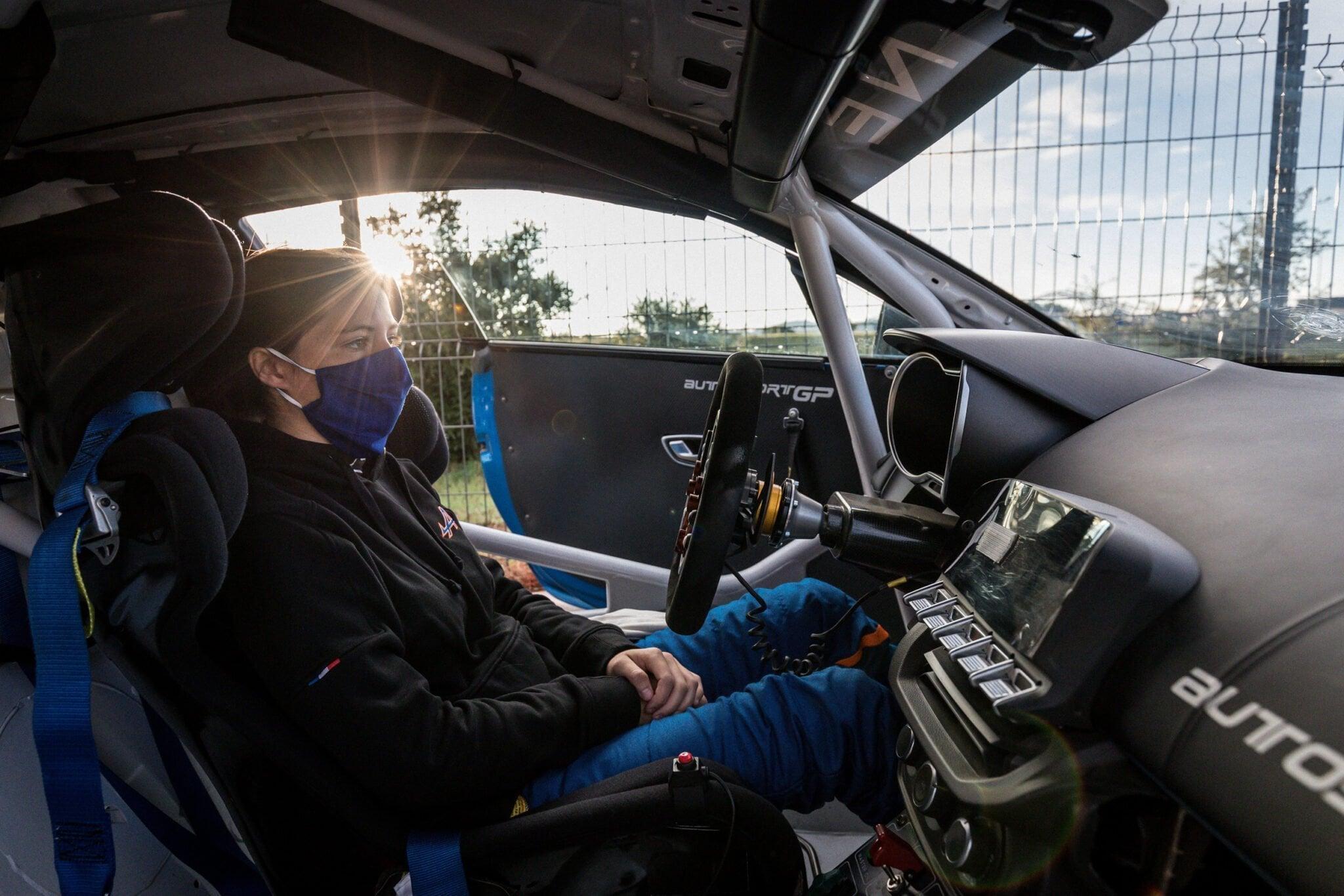 Autosport GP Lilou Wadoux Ducellier Paul Ricard 2020 | Alpine Elf Europa Cup 2020 : L'équipe Autosport GP assurée du titre !