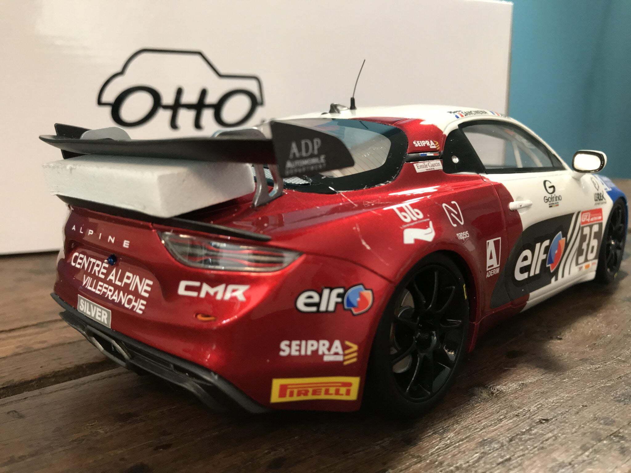 73240BFC 89E0 4DE0 B250 A97B2883073A | Alpine A110 GT4 n° 36 par OTTOMOBILE : une Championne du Monde à la maison