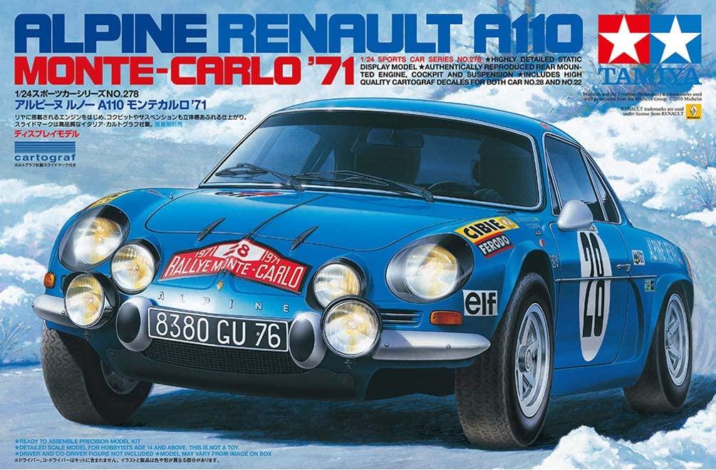 Alpine A110 Tamiya 4 | 30 idées de cadeaux de Noël pour les passionnés d'Alpine