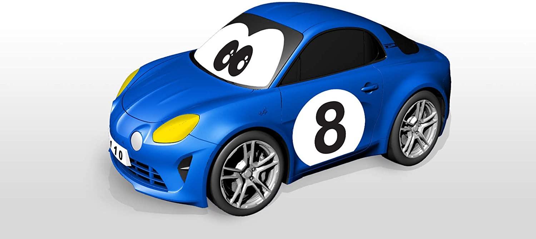 Bburago Maisto France BBJUNIOR Renault Ma premiere Alpine A110 a Volant gyroscopique Voiture 1 | 30 idées de cadeaux de Noël pour les passionnés d'Alpine