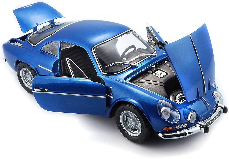 Bburago Maisto France Voiture Miniature Alpine Renault 1600 S Stradale 1971 1 | 30 idées de cadeaux de Noël pour les passionnés d'Alpine