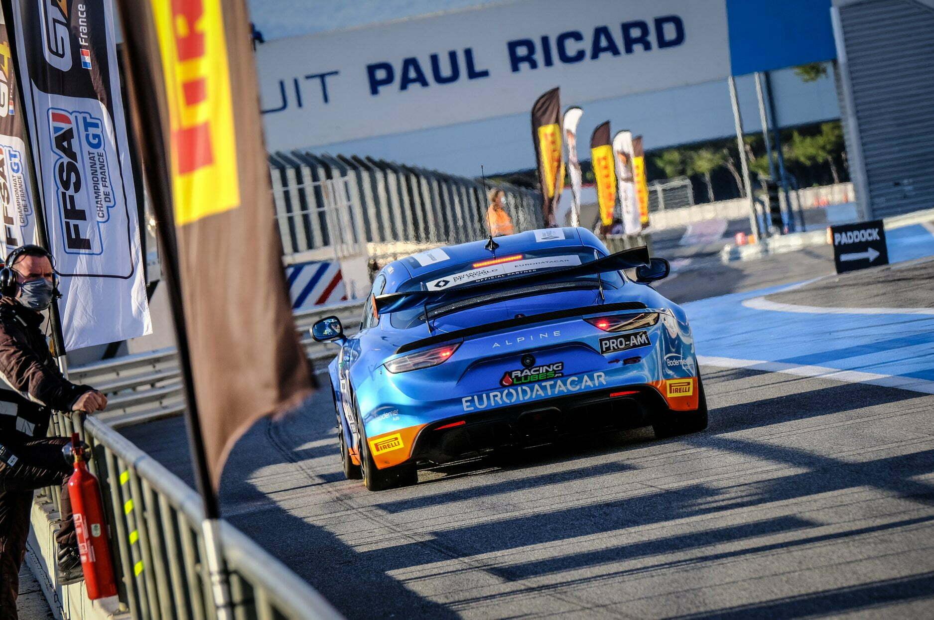 FFSA GT4 Alpine A110 CMR Prost Redele Castellet Paul Ricard 2020 1 | Alpine A110 GT4 : la grande finale au Castellet ⎜Course n°2