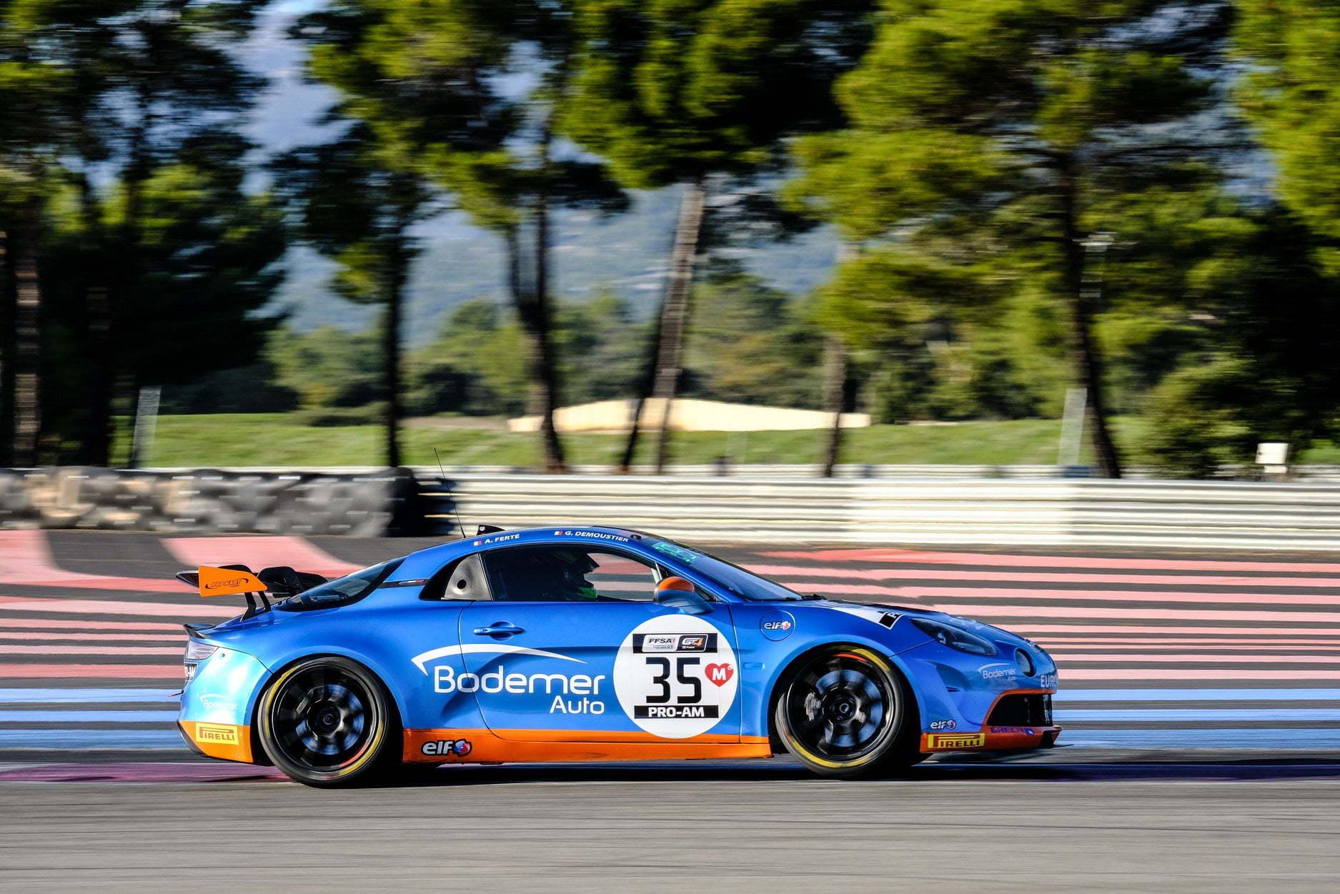 FFSA GT4 Alpine A110 CMR Prost Rédélé Castellet Paul Ricard 2020