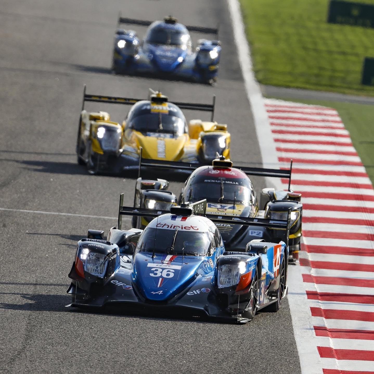 Signatech Alpine A470 Laurent Ragues Negrao Bahrein WEC 2020 LMP2 18 | Signatech Alpine atteint la 5ème place à Bahreïn