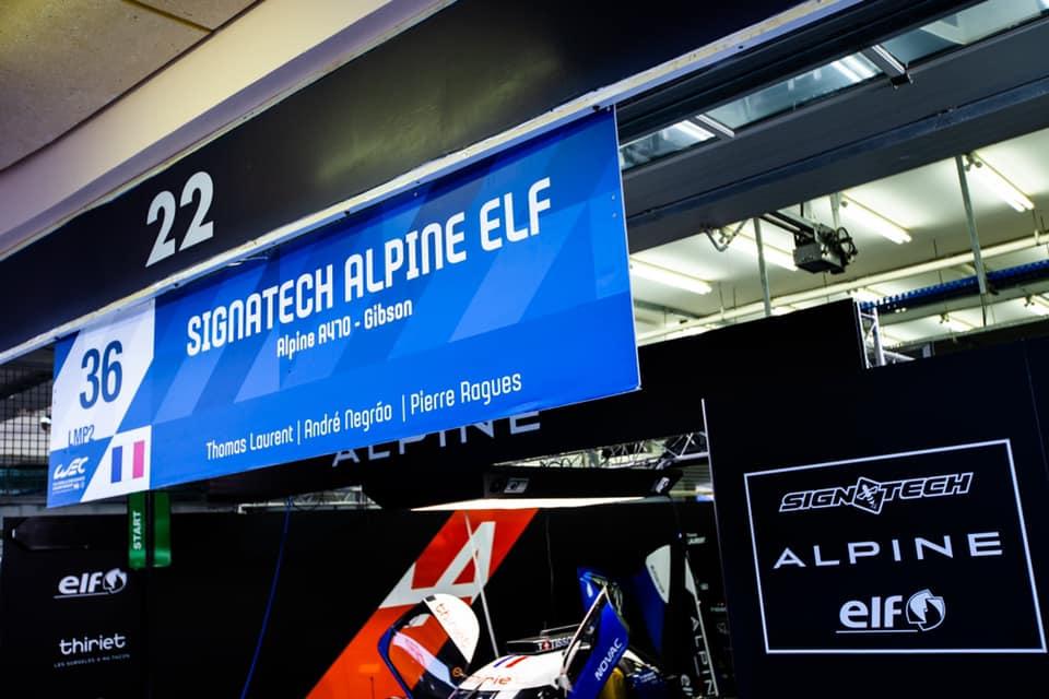 Signatech Alpine A470 Laurent Ragues Negrao Bahrein WEC 2020 LMP2 4 | Signatech Alpine atteint la 5ème place à Bahreïn