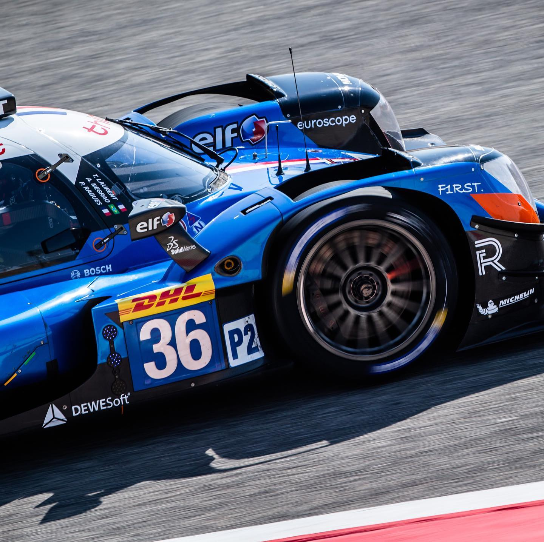 Signatech Alpine A470 Laurent Ragues Negrao Bahrein WEC 2020 LMP2 8 | Signatech Alpine atteint la 5ème place à Bahreïn
