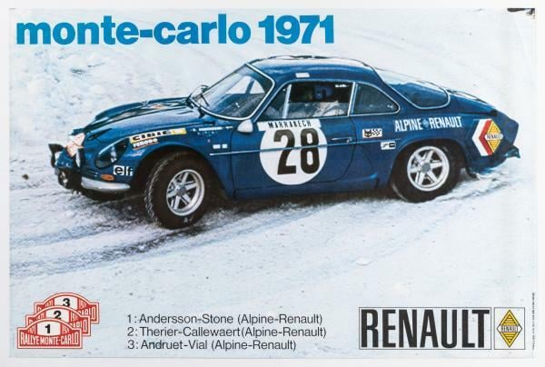 7605B340 9441 43BC 9FEC 31C1BB75FF5A | Rallye Monte Carlo 1971 : Sa majesté Alpine.