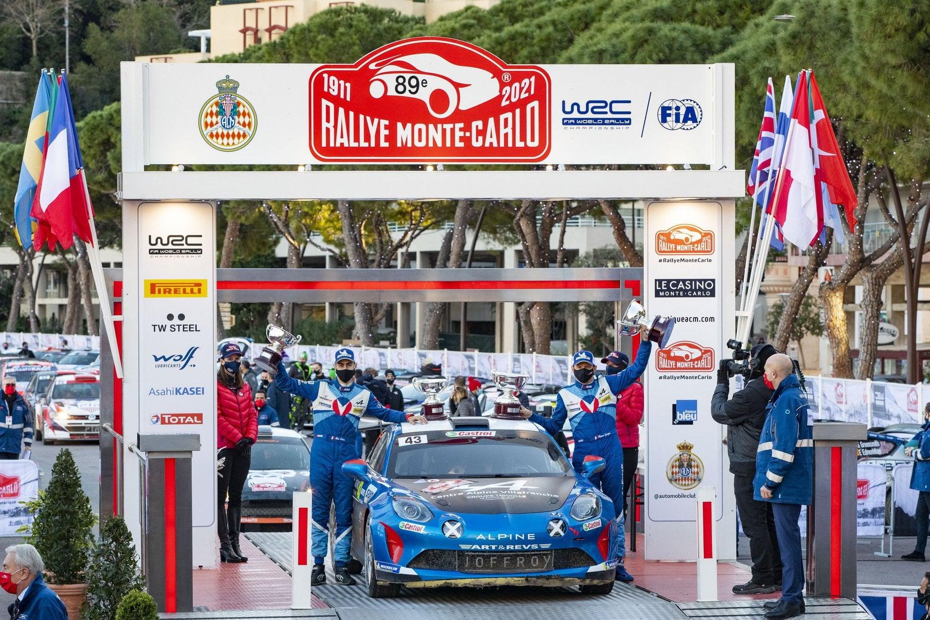 Alpine A110 RGT Monte Carlo 2021
