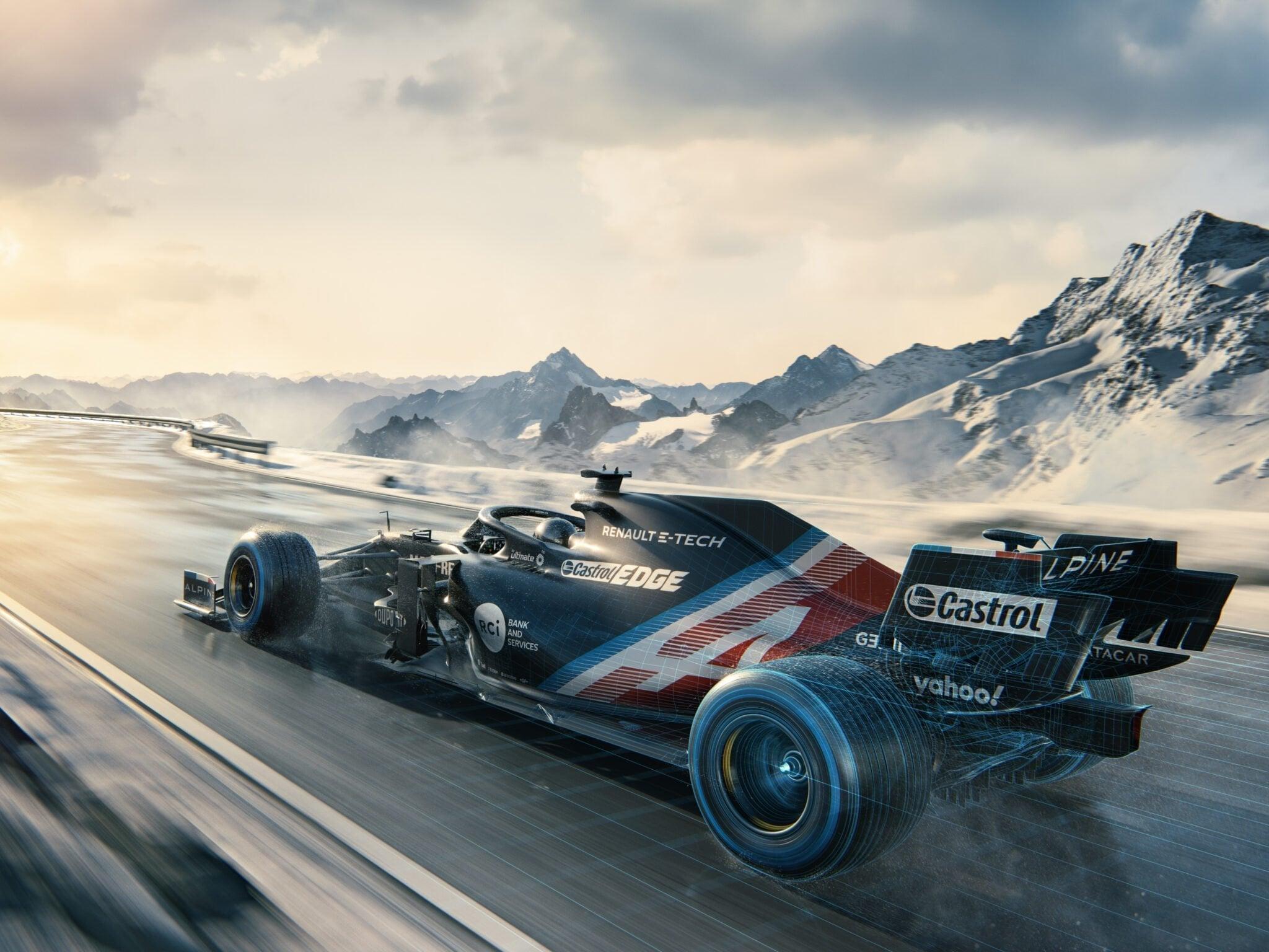 Alpine A521 Alpine F1 Team 2 | Alpine F1 Team : Nicolas Prost et Arnaud Tsamere en finale du Virtual Grand Prix