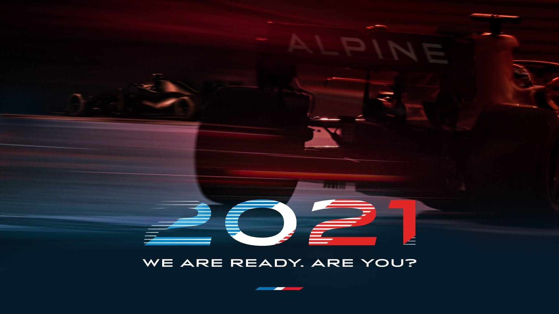 Les Alpinistes F1 2021 Alpine Team