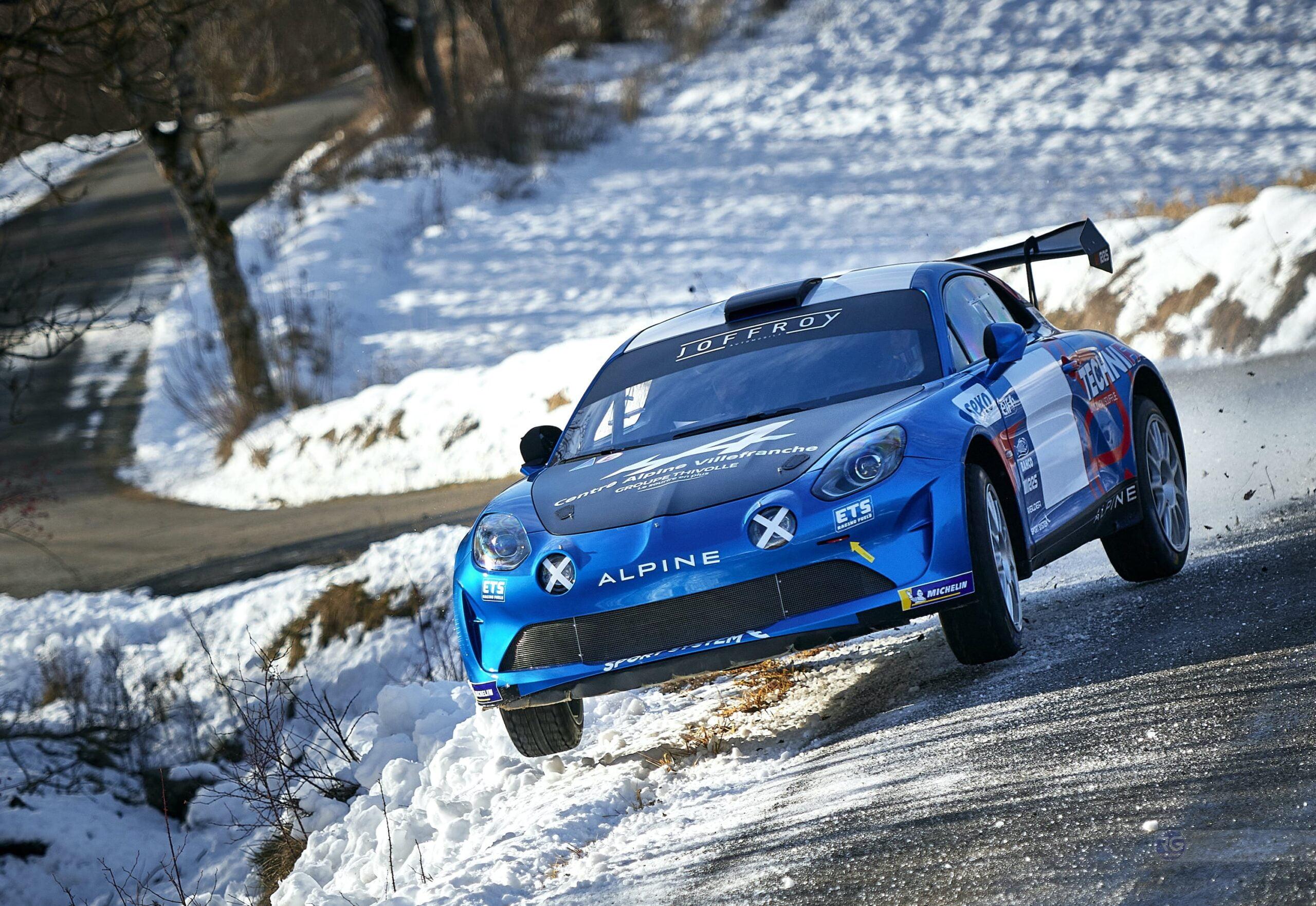 Manu Guigou Alpine A110 RGT Monte Carlo
