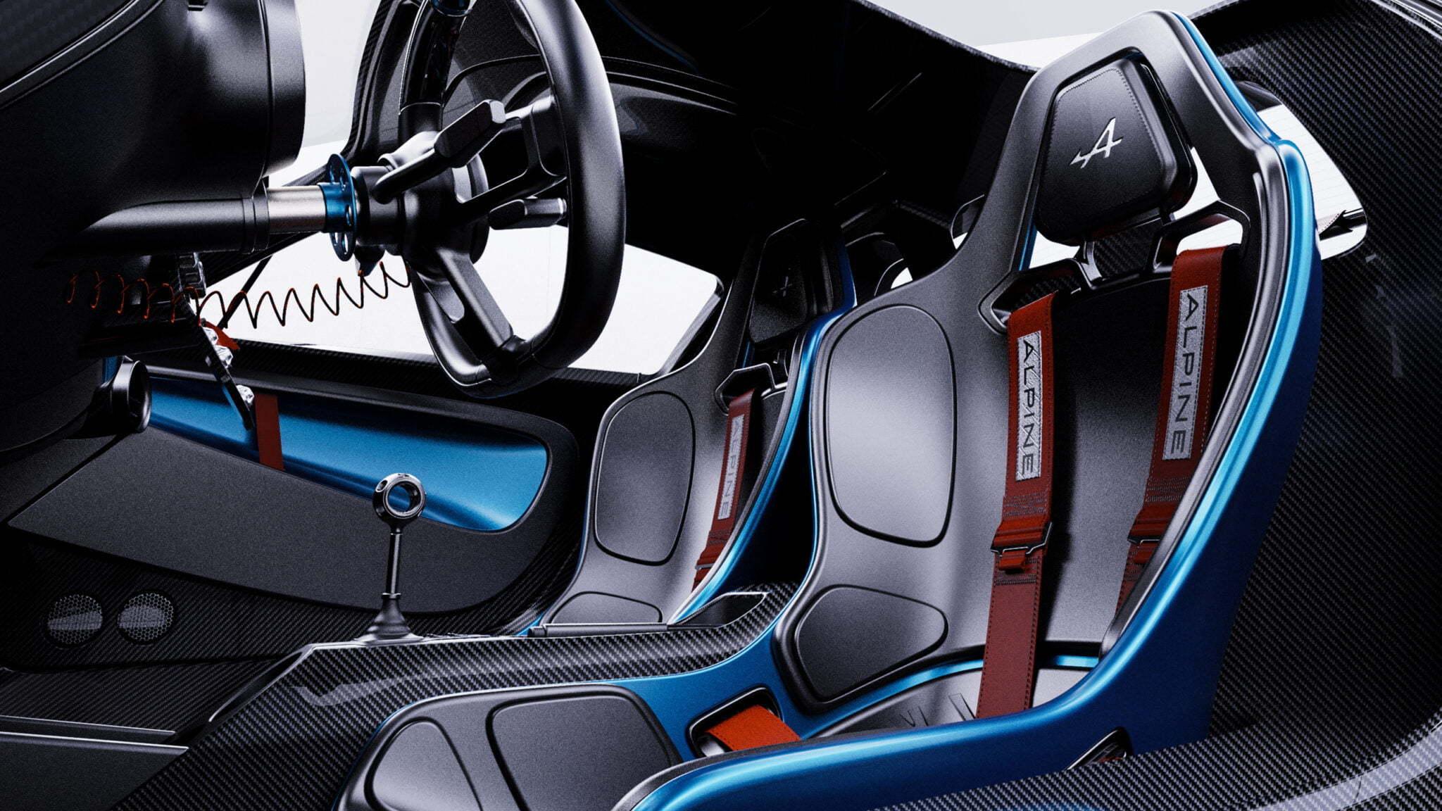 Alpine GTA Arseny Kostromin Interieur 5 | Alpine GTA : l'étude du designer Arseny Kostromin qui s'inpire de l'A110