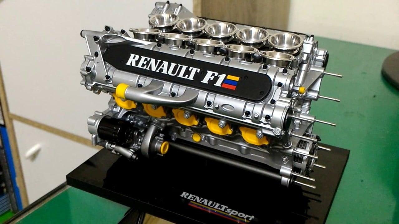 Renault F1 V10 RS 9 Mecachrome   Alpine Racing renouvelle son partenariat avec Mecachrome