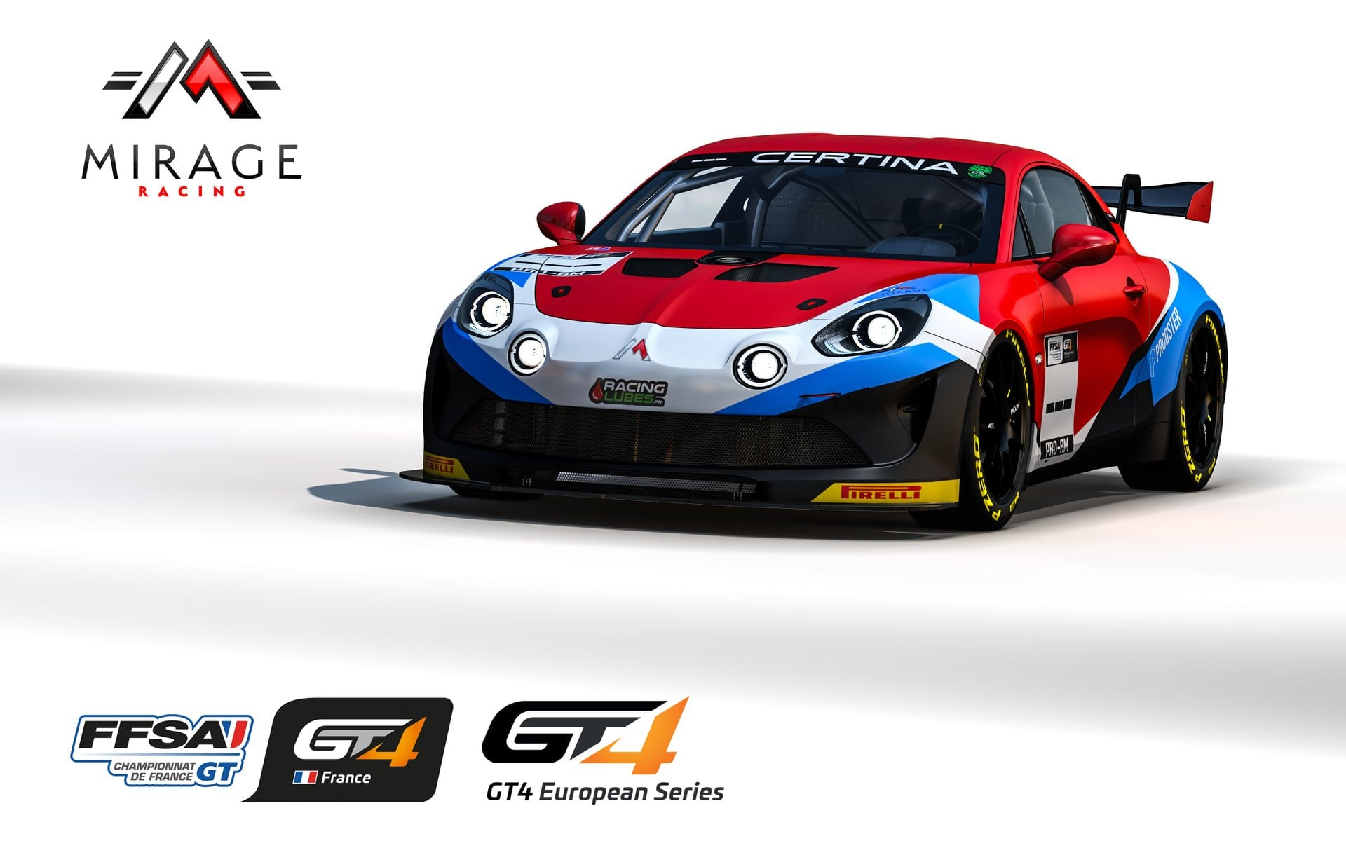 Alpine A110 GT4 Mirage Racing 2021 - 1