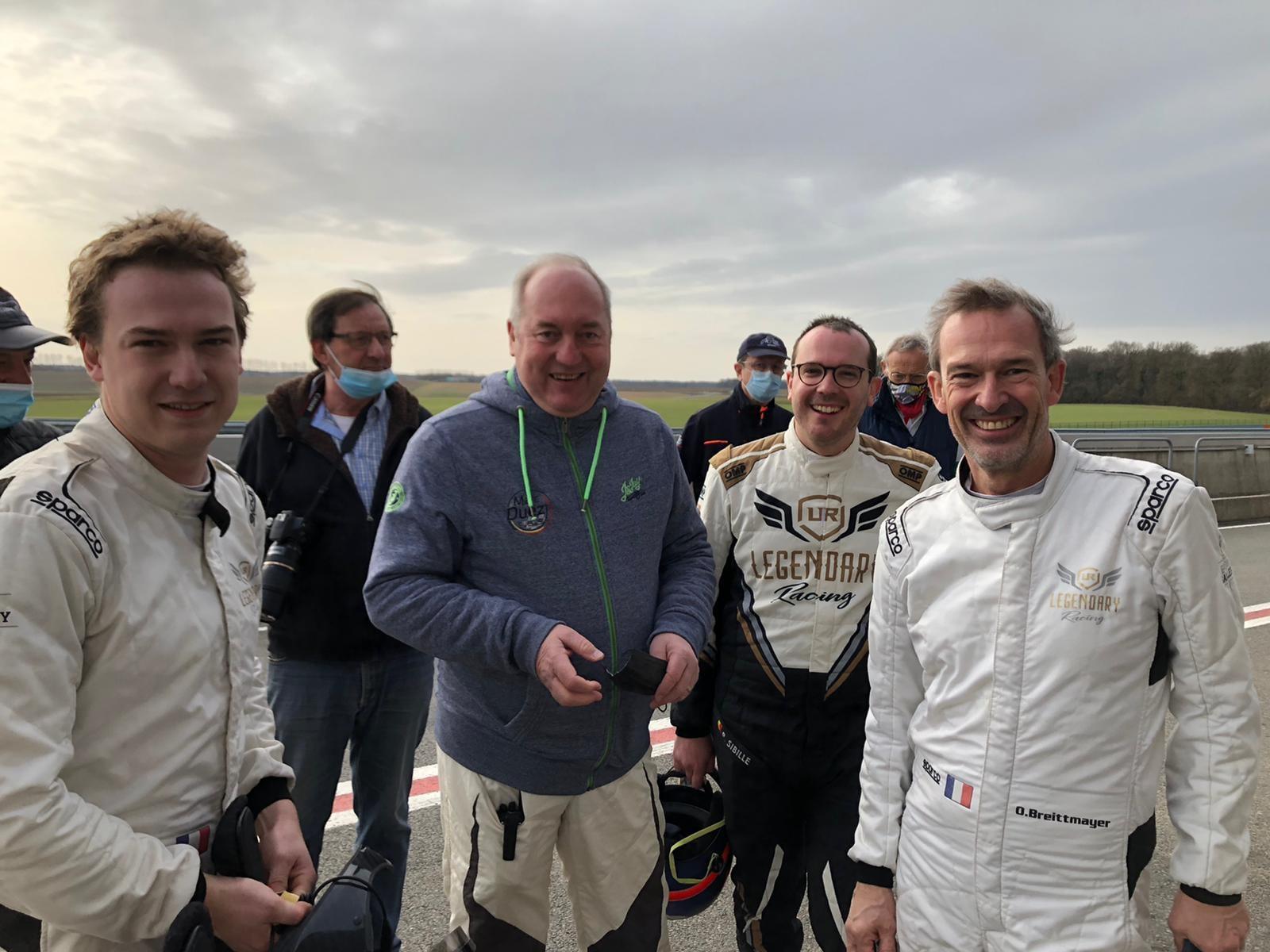 Alpine A110 Rally RGT Team FJ 2021 5   Alpine A110 R-GT : Le Team FJ la fait découvrir à des pilotes Belges