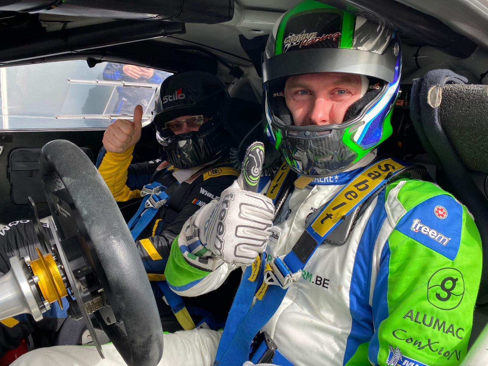 Alpine A110 Rally RGT Team FJ 2021 7   Alpine A110 R-GT : Le Team FJ la fait découvrir à des pilotes Belges