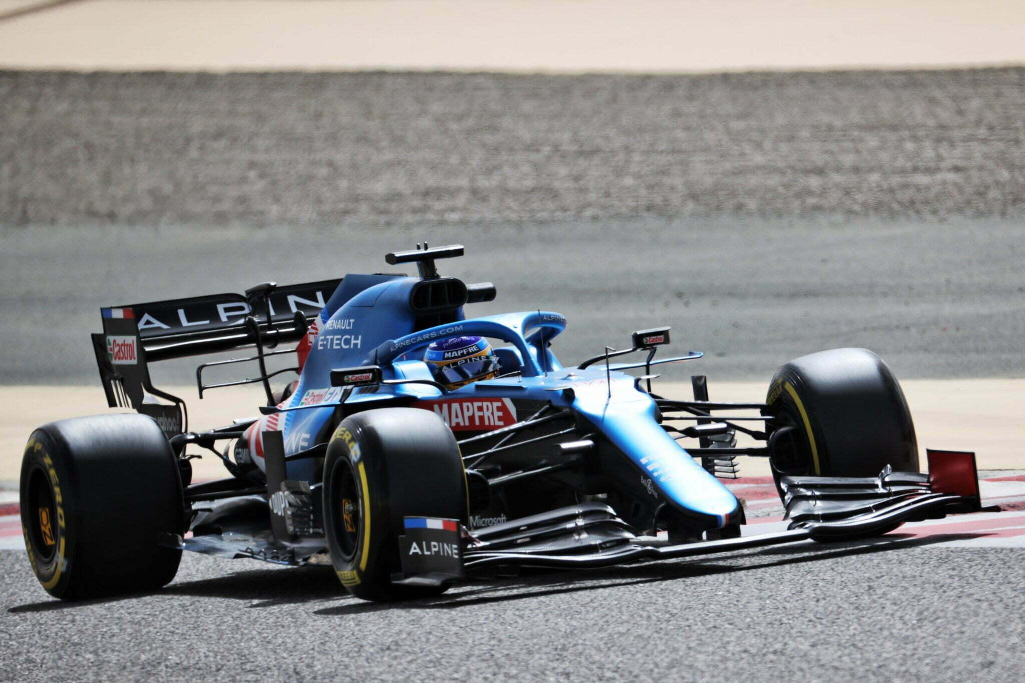 Alpine F1 Team A521 Bahrein test 2 Fernando Alonso 2 | Luca De Meo souhaite qu'Alpine reste en F1 ad vitam aeternam