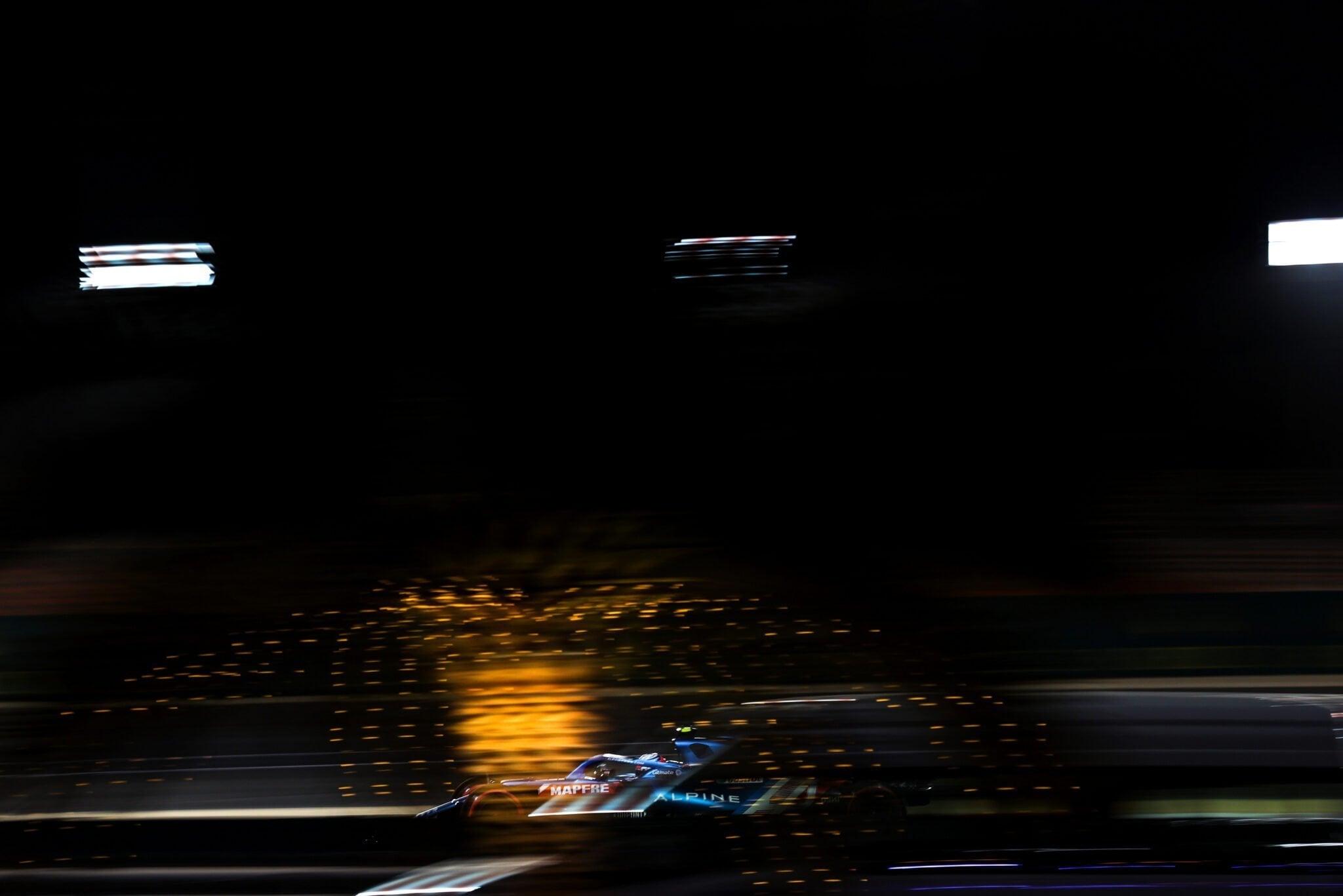 Alpine F1 Team Alonso Ocon A521 Bahrein