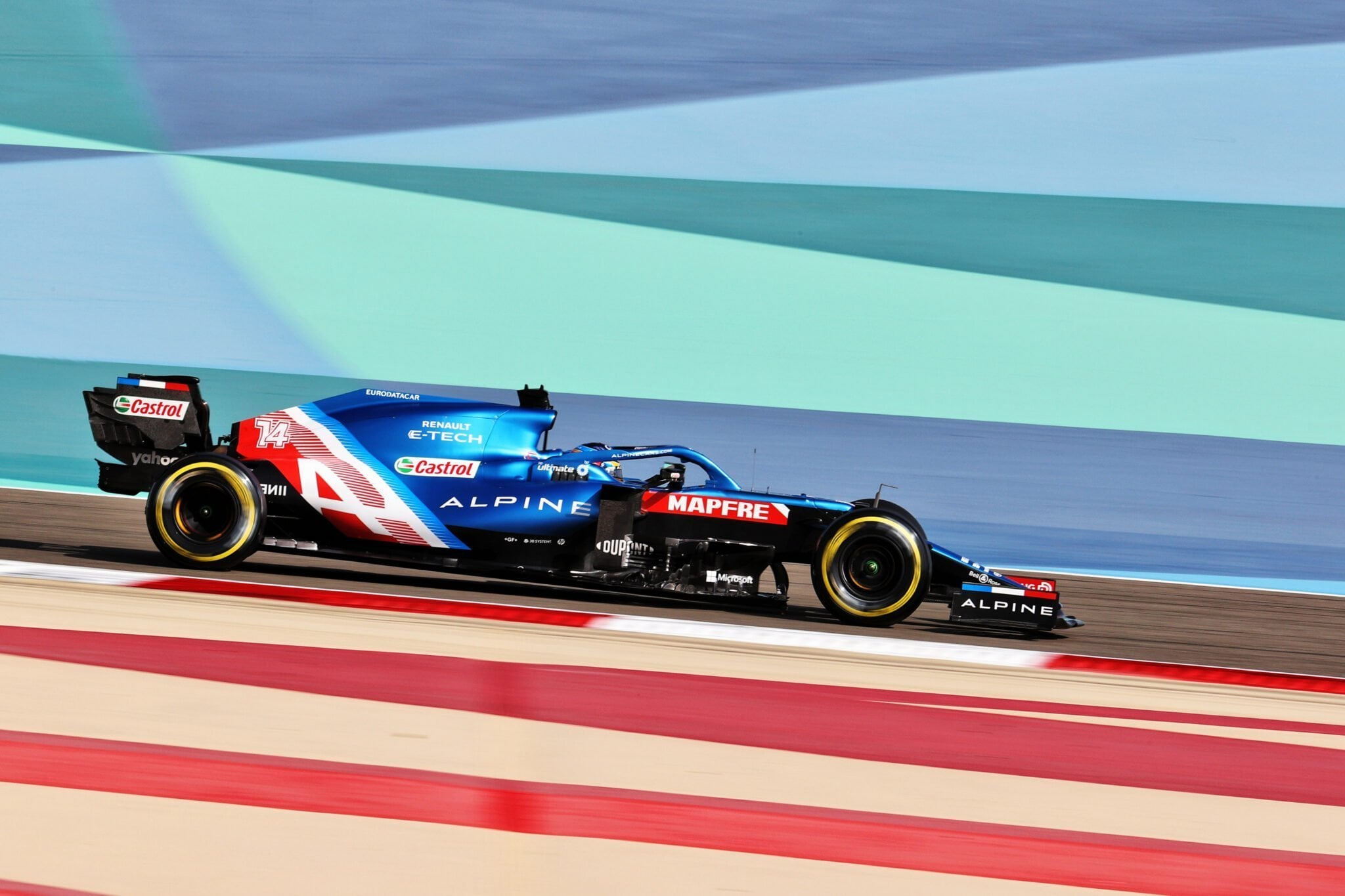 Alpine F1 Team Alonso Ocon A521 Bahrein