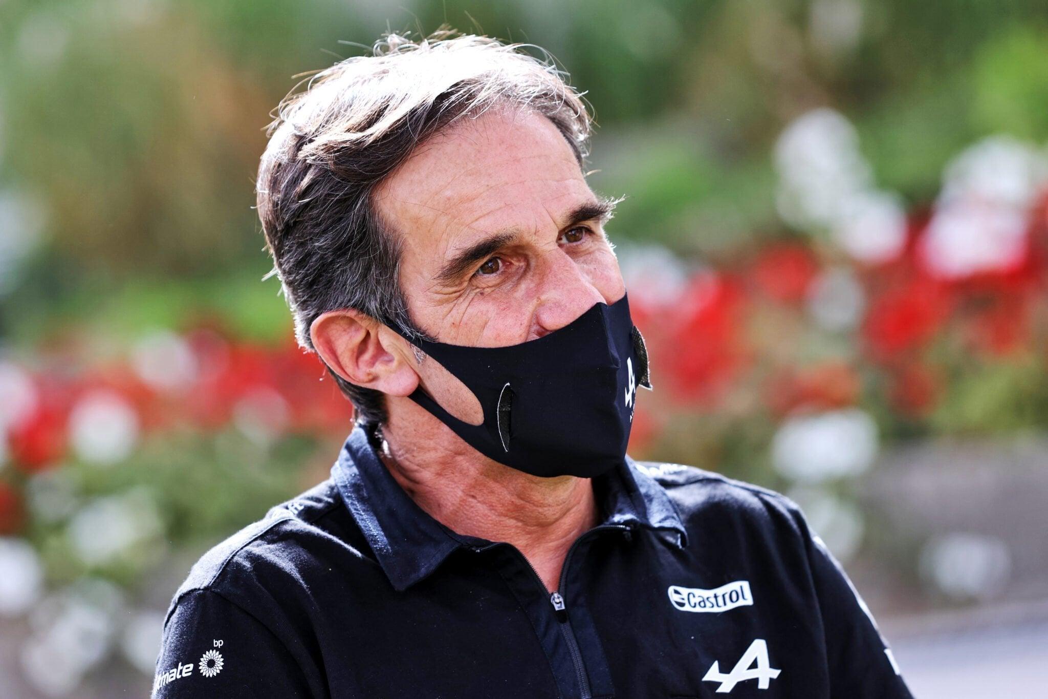 Alpine F1 Team Davide Brivio A521 Bahrein