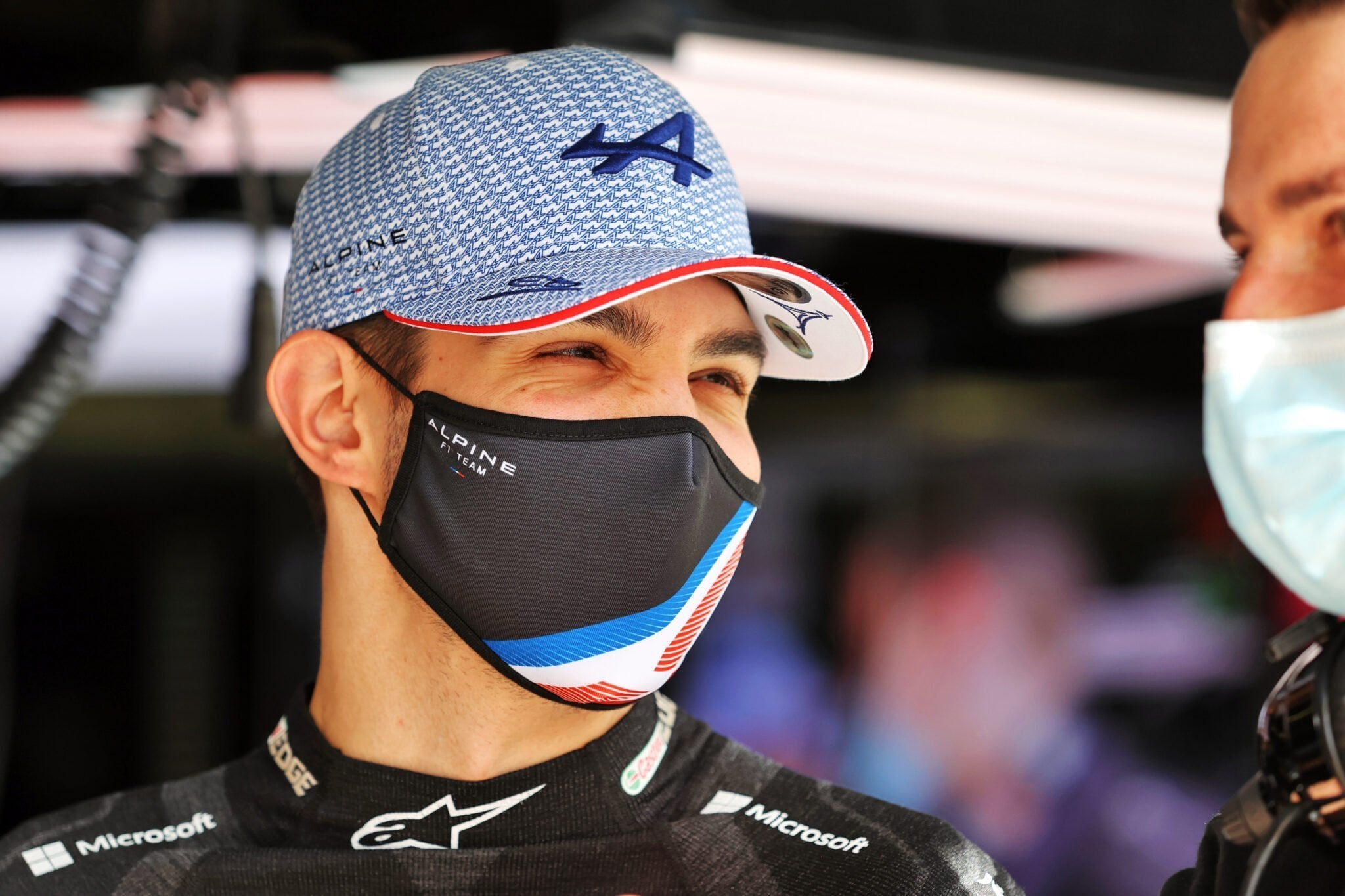 Alpine F1 Team Esteban Ocon A521 Bahrein
