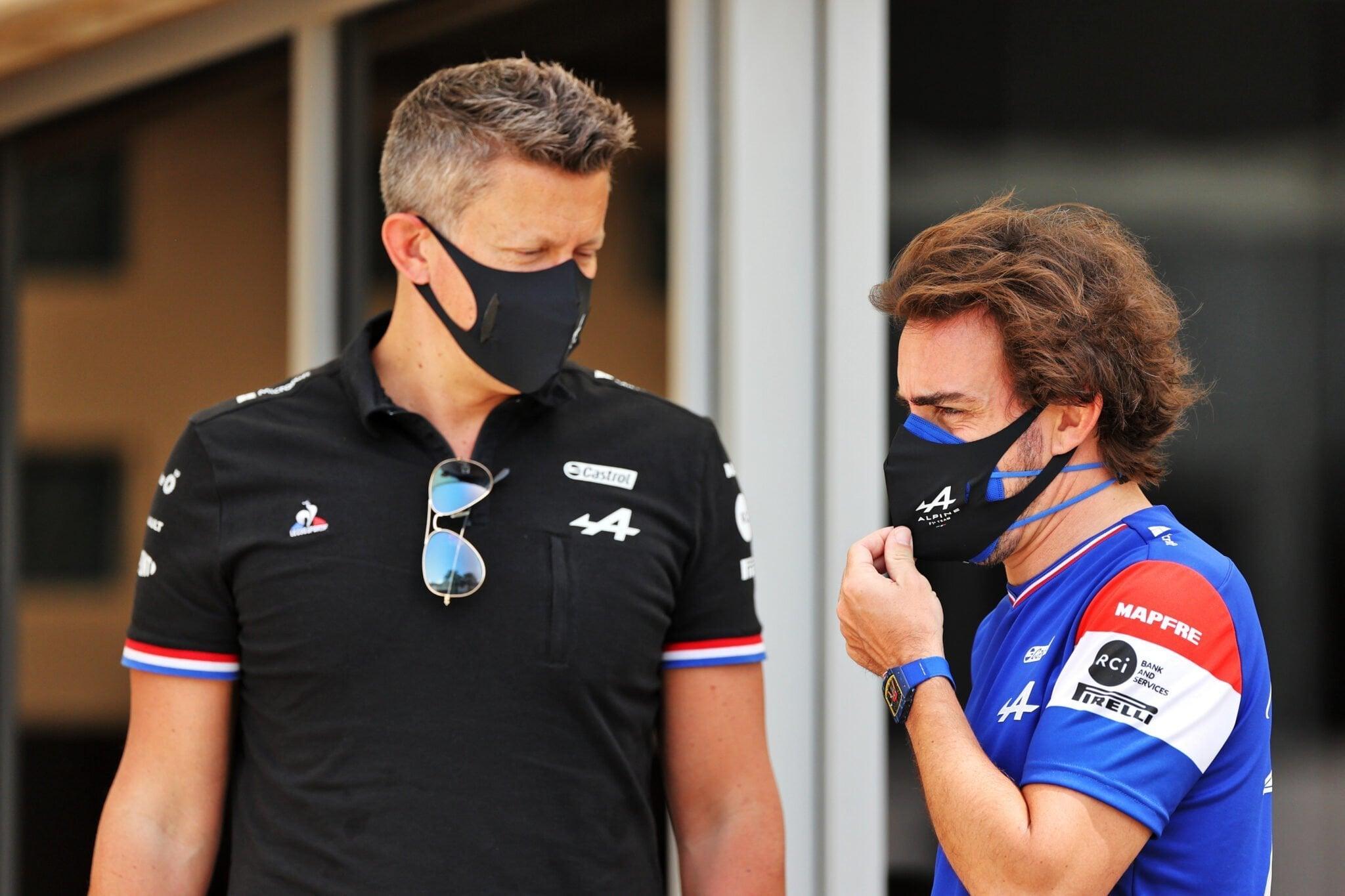 Marcin Budkowski Alpine F1 Team Bahreïn