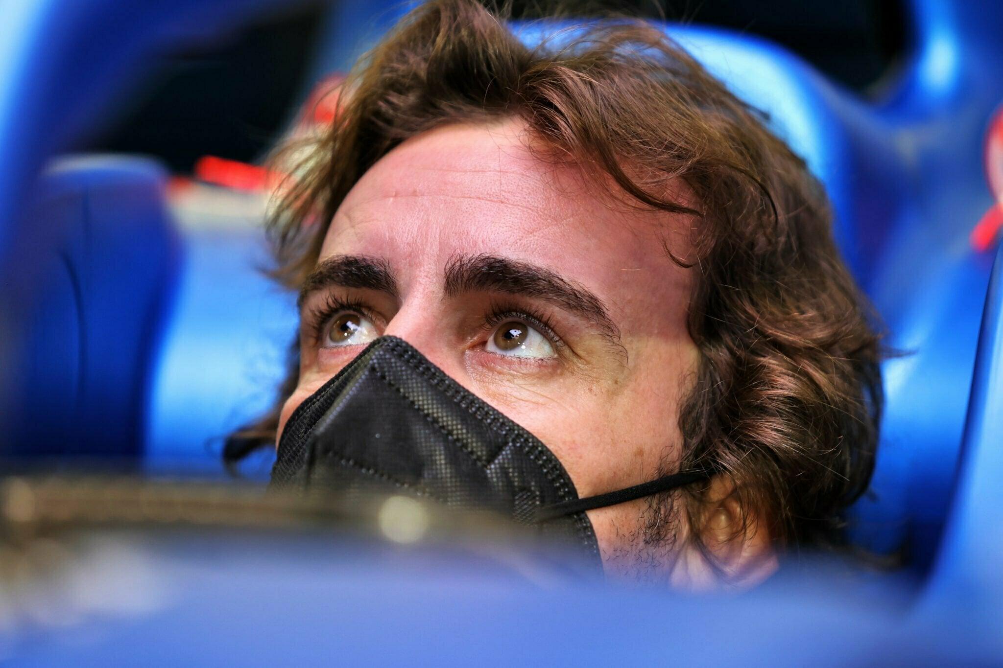Fernando Alonso Alpine F1 Team Bahrain Sakhir 2021 | Alpine F1 Team : Alonso et Ocon débutent les essais à Bahreïn