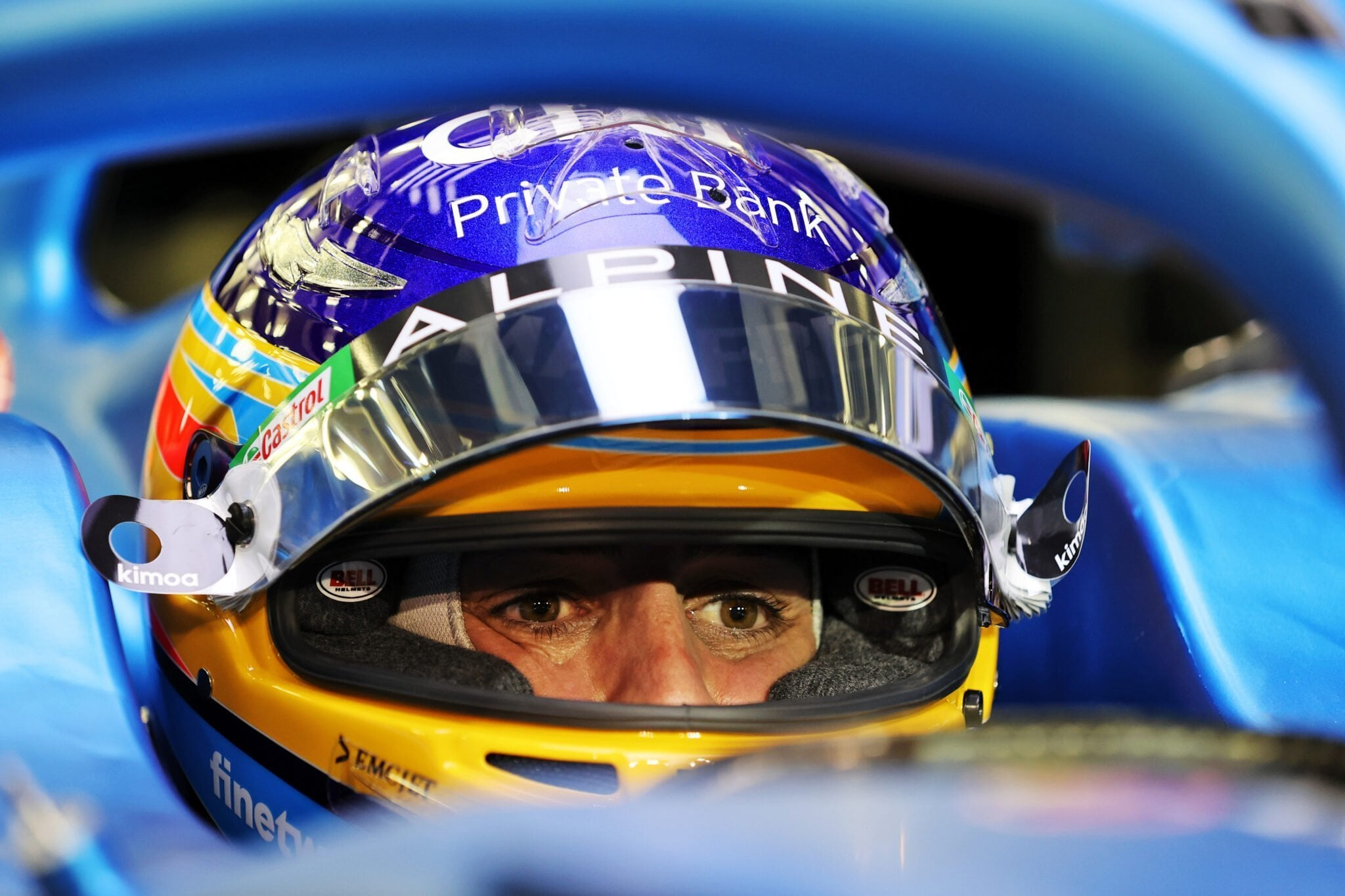 Fernando Alonso Fernando Alonso Alpine F1 Team Bahrain Sakhir 2021 | Alpine F1 Team : Alonso et Ocon débutent les essais à Bahreïn