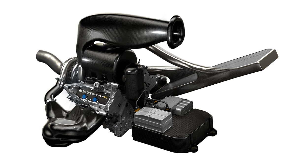 Moteur Renault Energy F1 2014