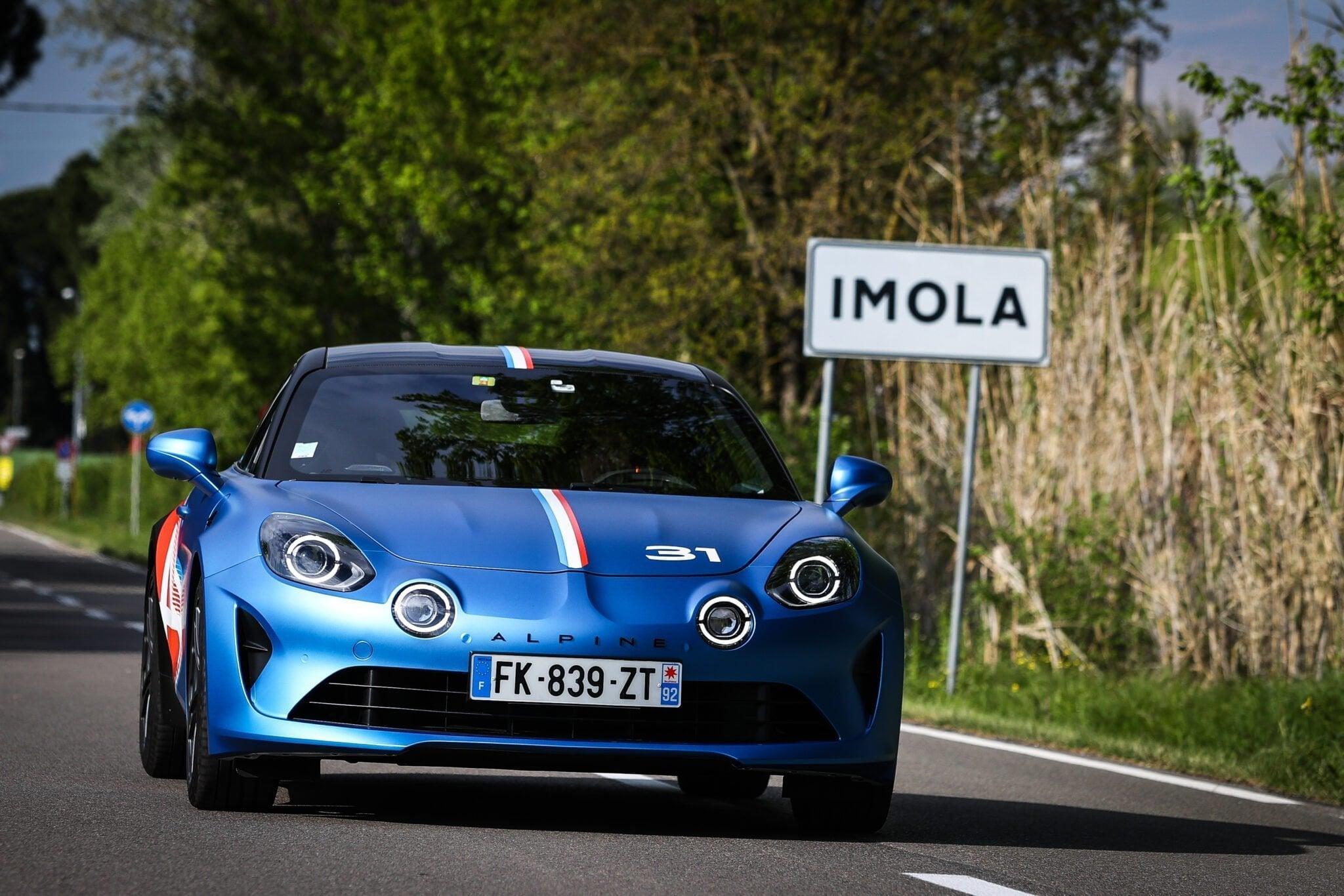 Alpine A110 Trackside Alonso Ocon 2021 14 | Alpine A110 Trackside : la berlinette aux couleurs de la F1
