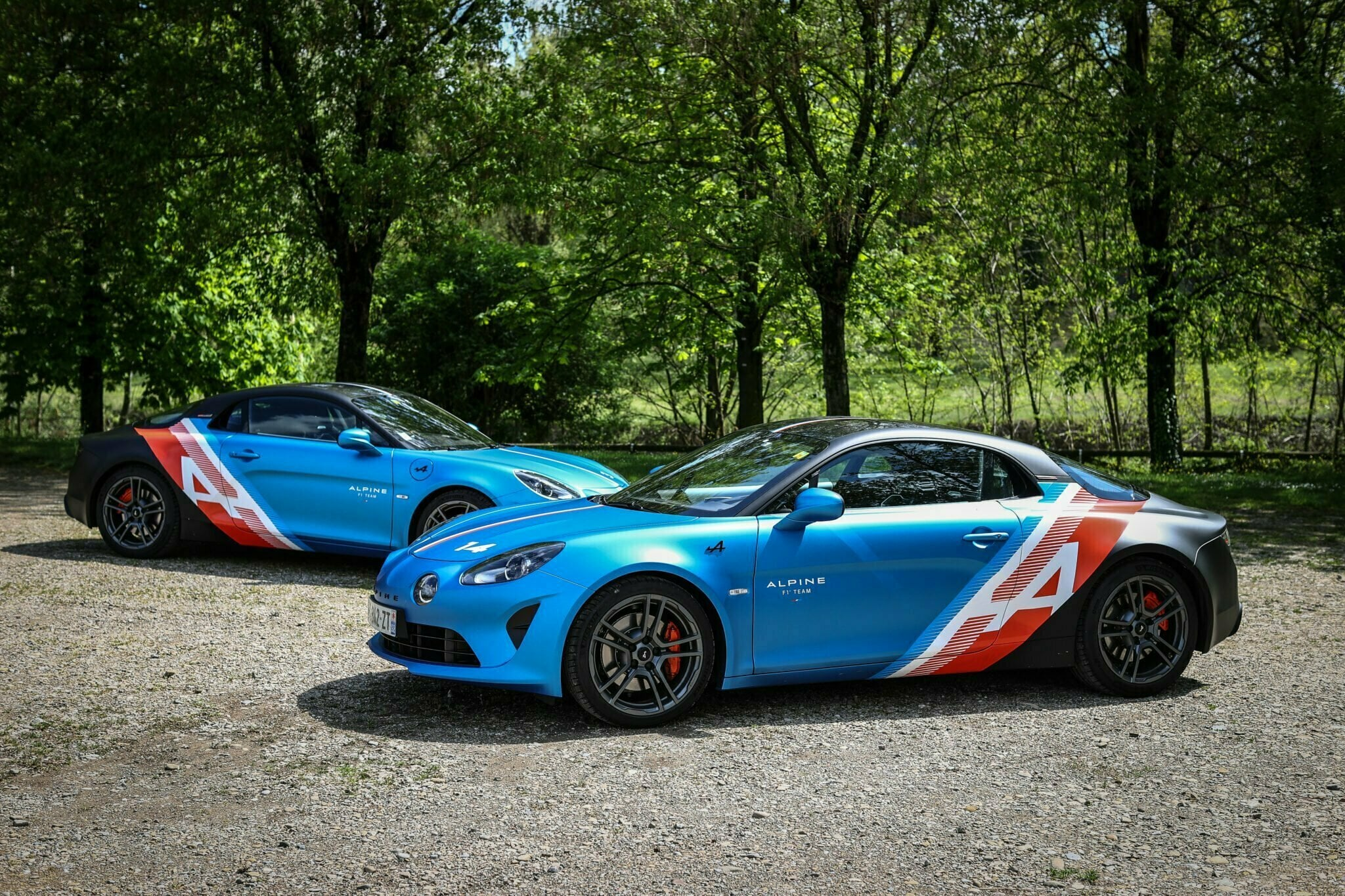 Alpine A110 Trackside Alonso Ocon 2021 16 | Alpine A110 Trackside : la berlinette aux couleurs de la F1