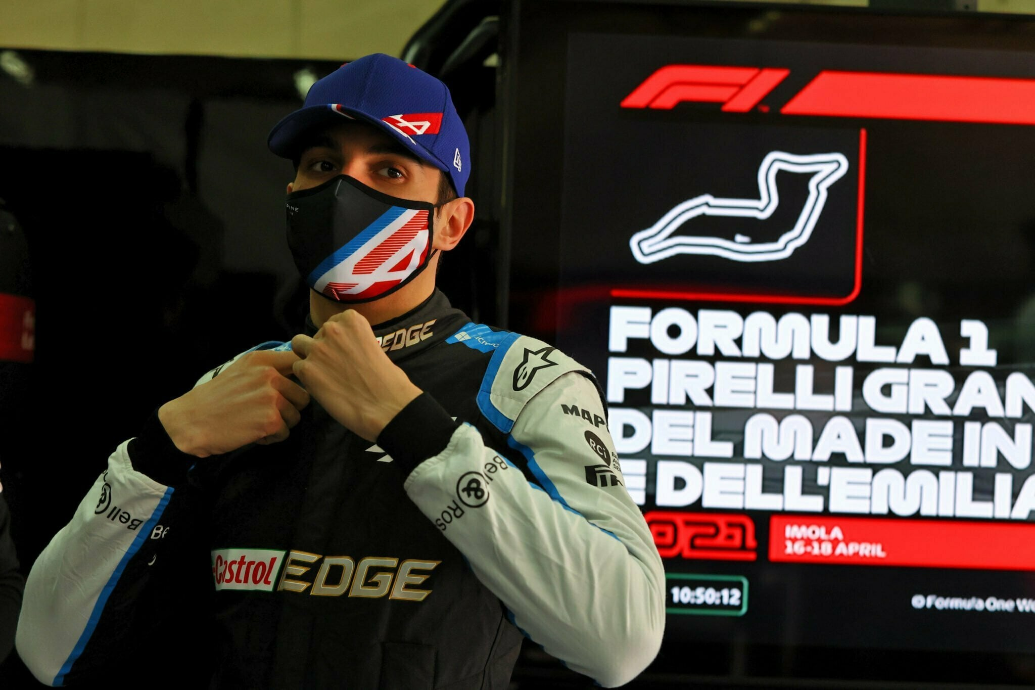 Esteban Ocon Alpine F1 Team
