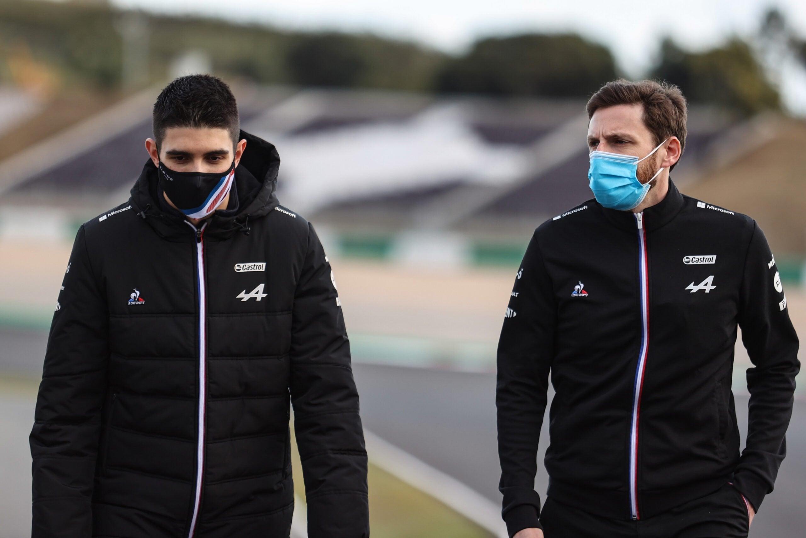 Alpine F1 Team alonso ocon Grand Prix Heineken du Portugal Formule 1 202114 scaled | Alpine F1 Team : Grand Prix Heineken du Portugal de Formule 1 2021