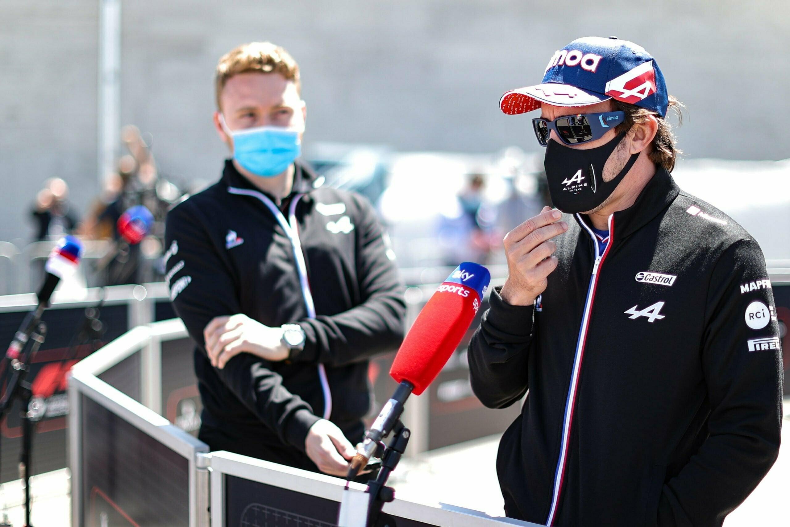 Alpine F1 Team : Grand Prix Heineken du Portugal de Formule 1 2021