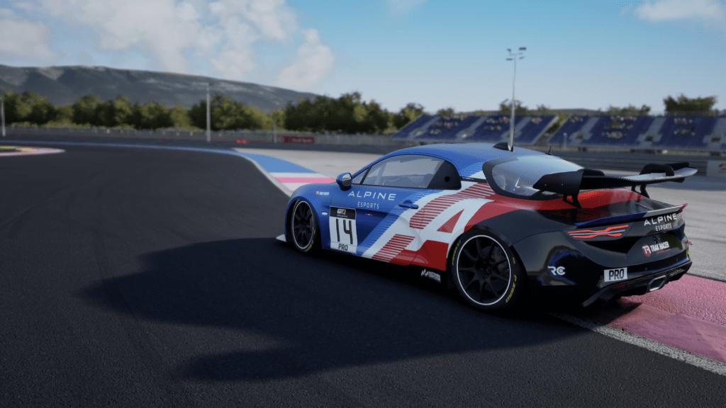 Alpine esports series raceclutch 2