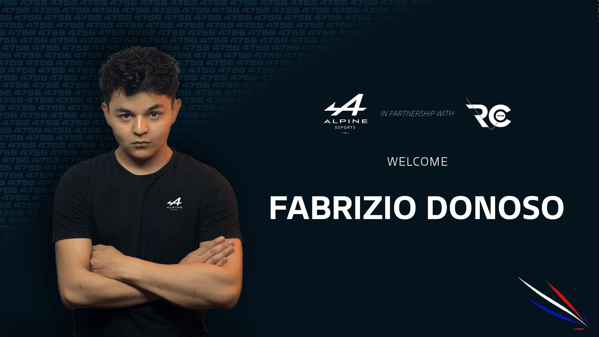 Fabrizio Danoso Alpine Esports Team