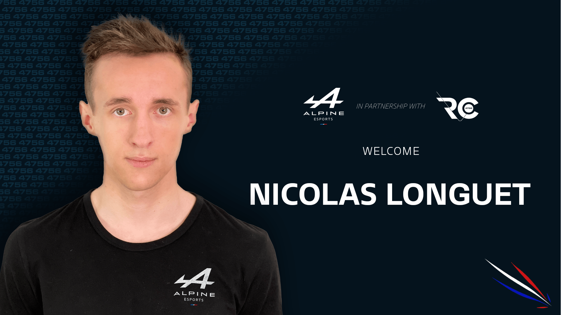 Nicolas Longuet Alpine Esports Team