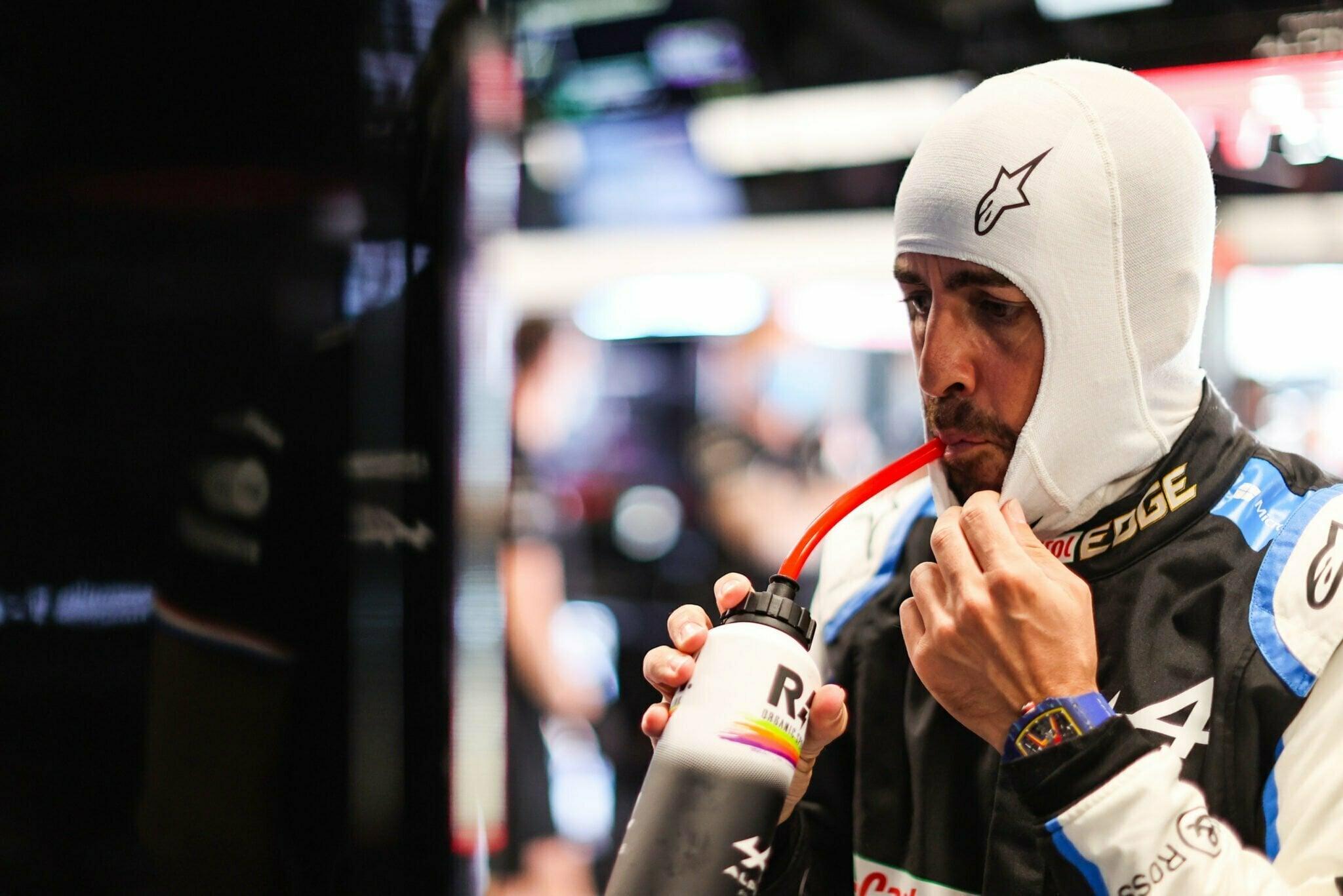 Alpine F1 Team A521 Alonso Ocon Grand Prix Espagne 2021