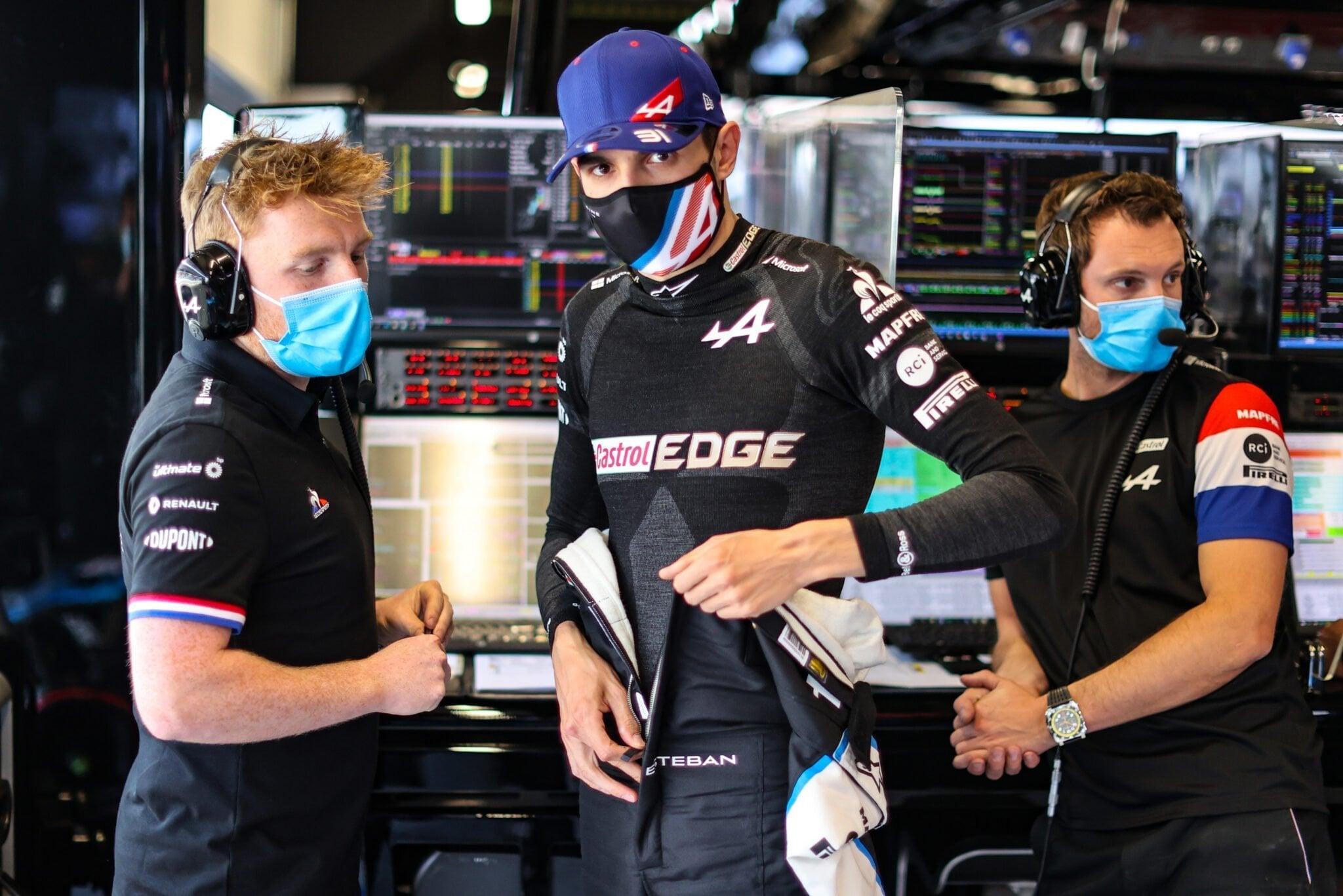 Alpine F1 Team A521 Alonso Ocon Grand Prix Espagne 2021 31   Alpine F1 Team : L'incroyable qualification d'Esteban Ocon au GP d'Espagnol !